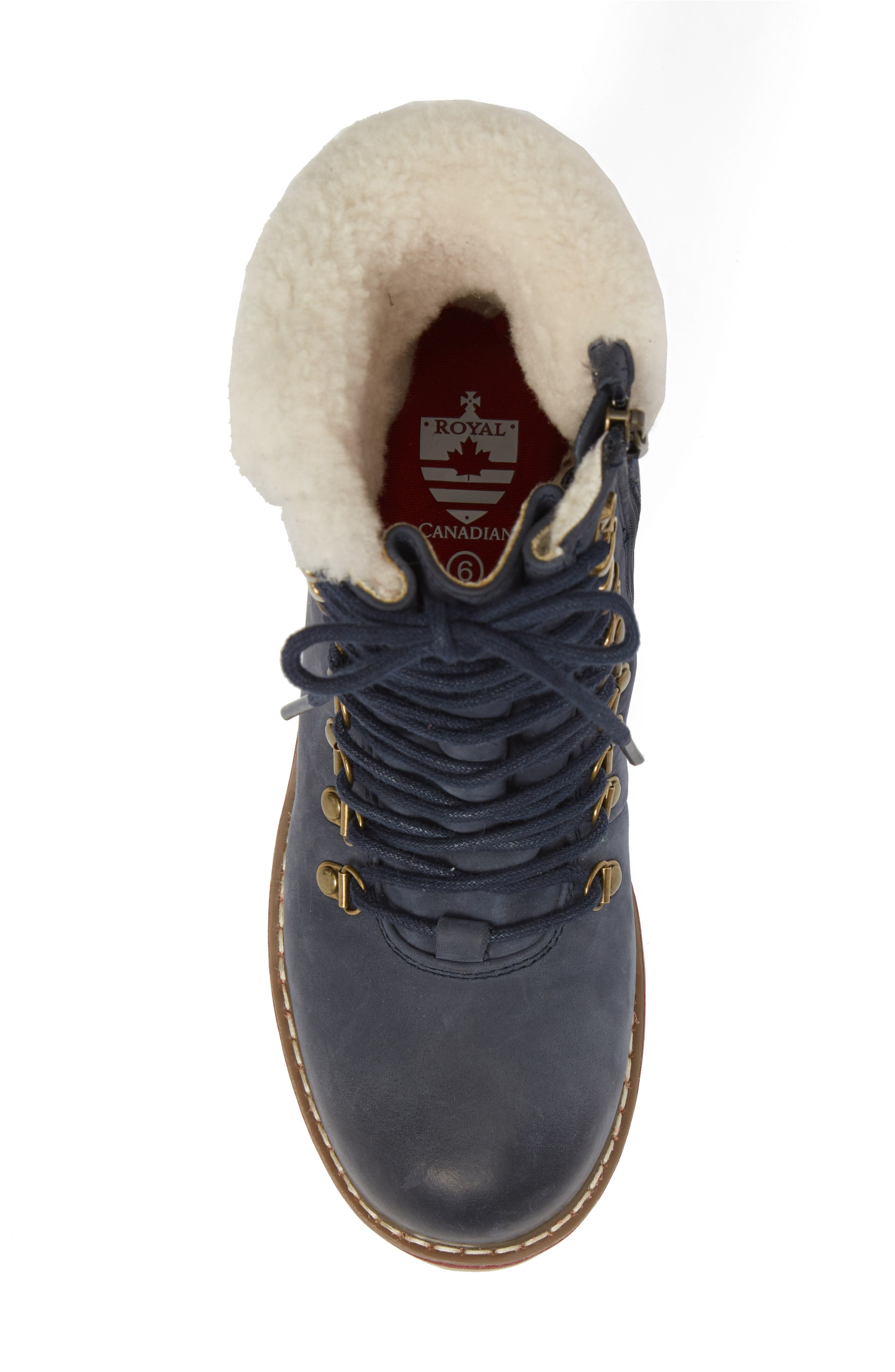 Lethbridge Waterproof Snow Boot with Genuine Shearling Cuff,                             Alternate thumbnail 20, color,