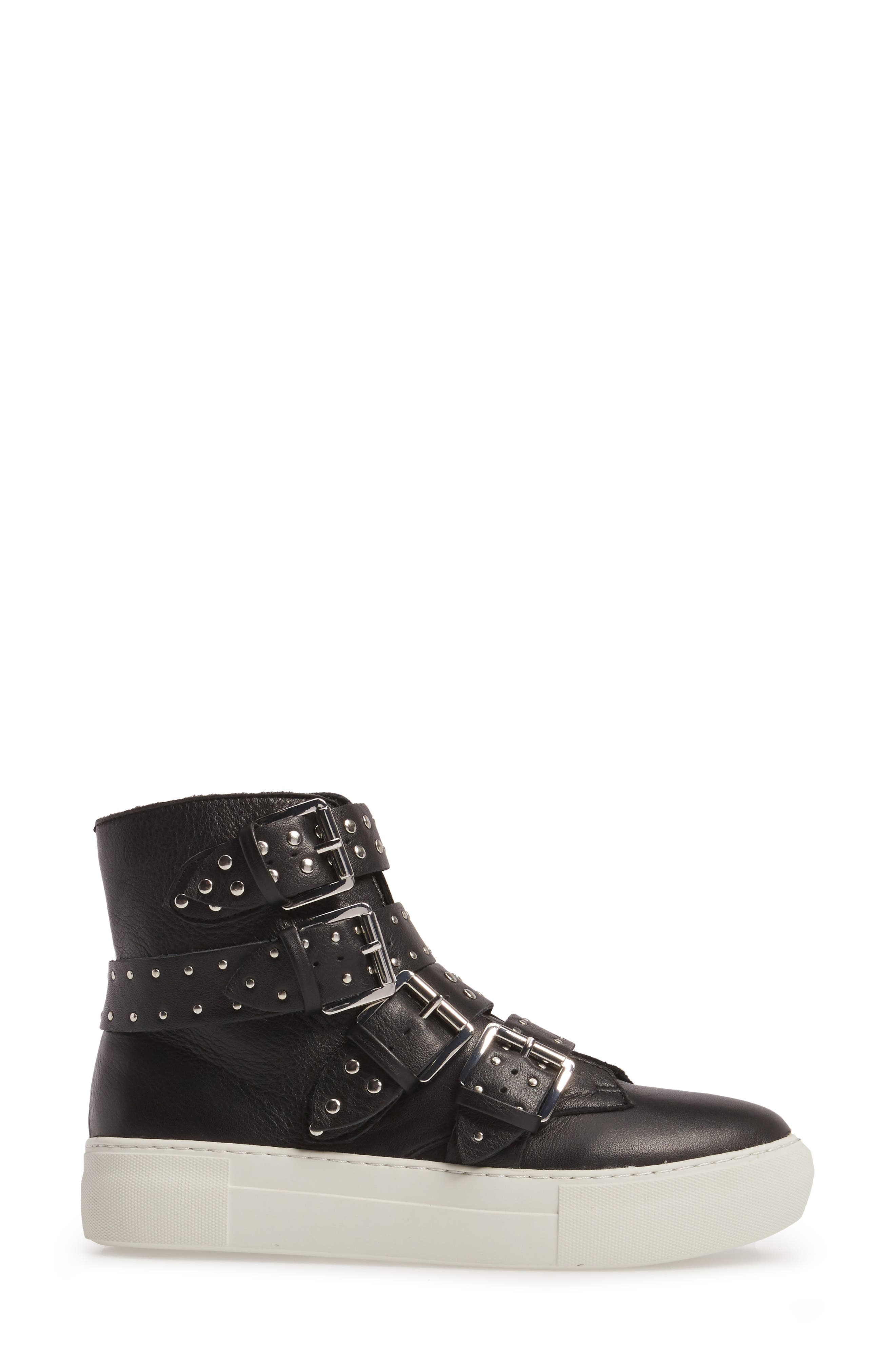 Aghast Buckle Bootie,                             Alternate thumbnail 3, color,                             015