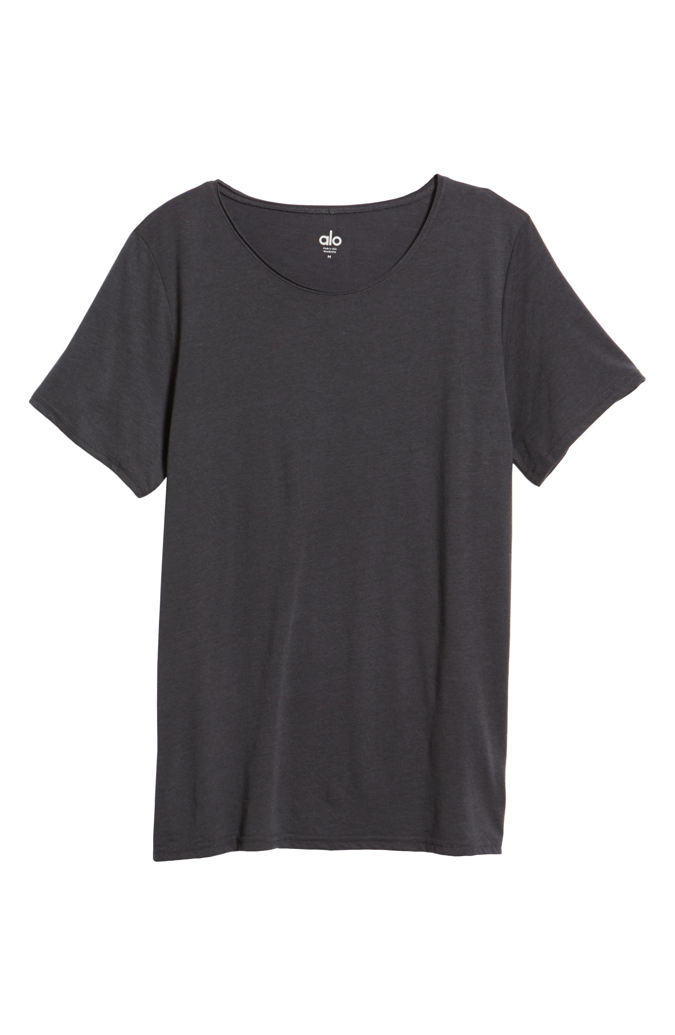 Ultimate T-Shirt,                             Alternate thumbnail 6, color,                             DARK GREY TRIBLEND