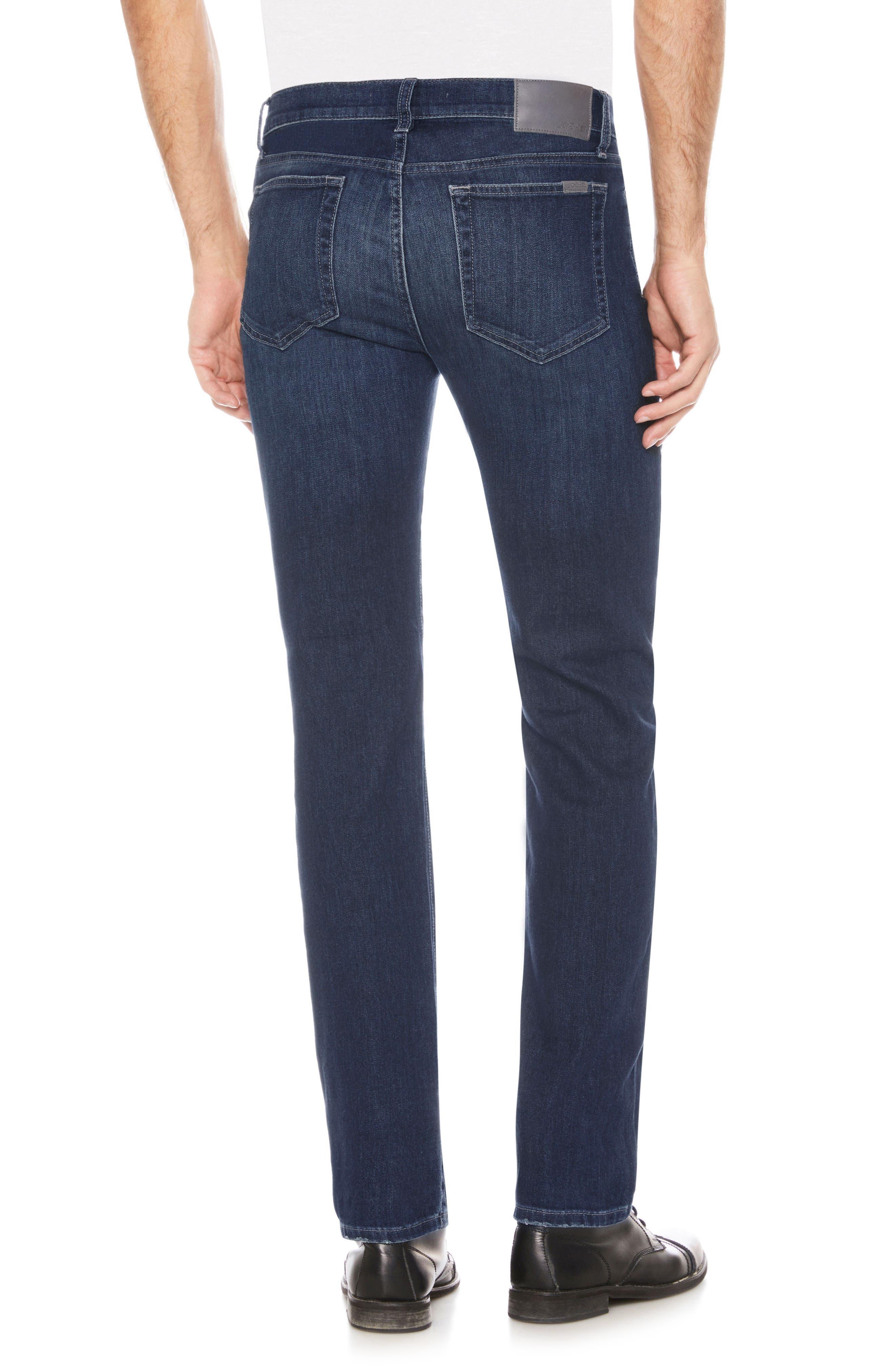 Brixton Slim Straight Leg Jeans,                             Alternate thumbnail 2, color,                             SANDERS