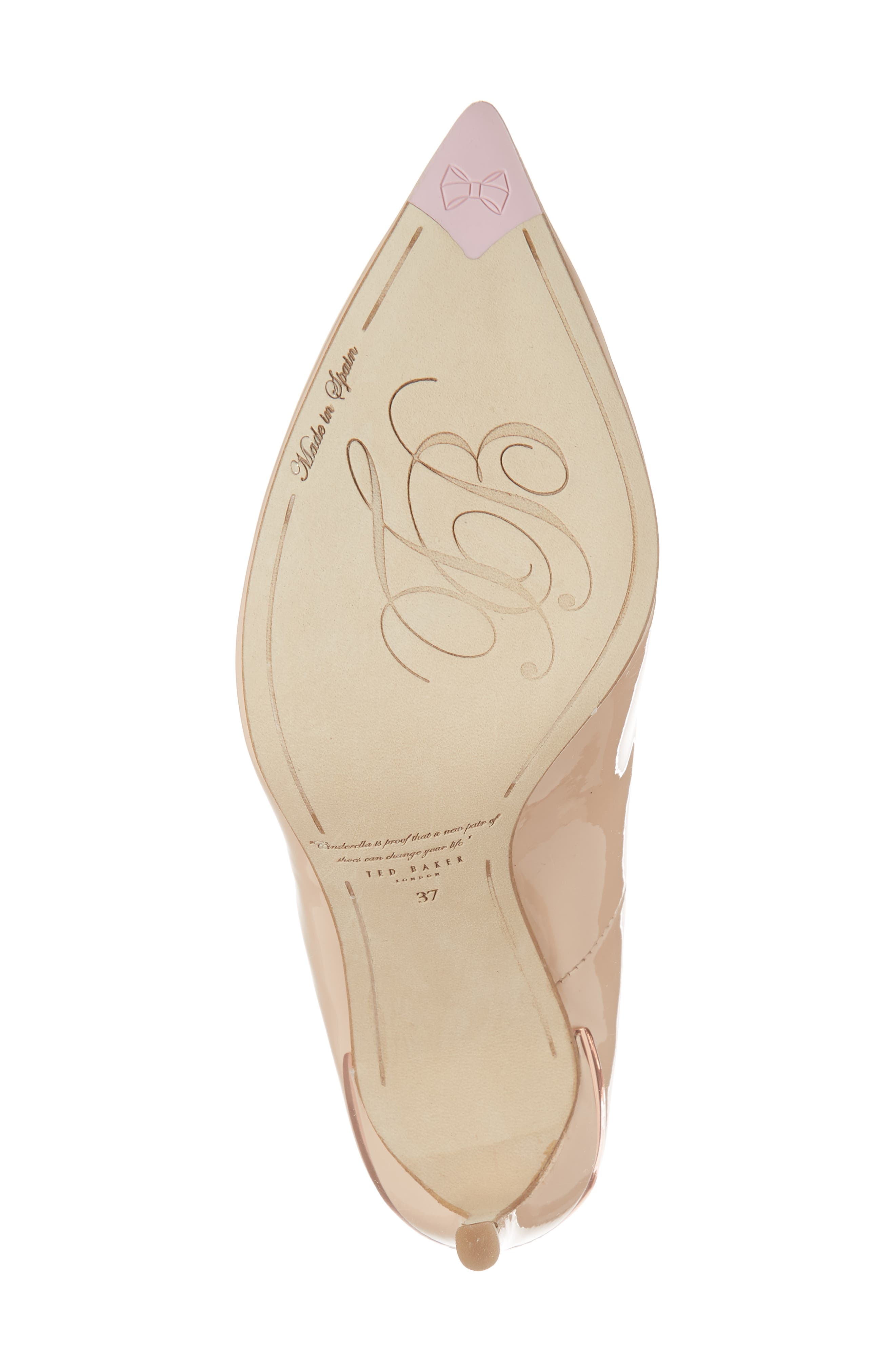Savio Pump,                             Alternate thumbnail 6, color,                             NUDE PATENT LEATHER