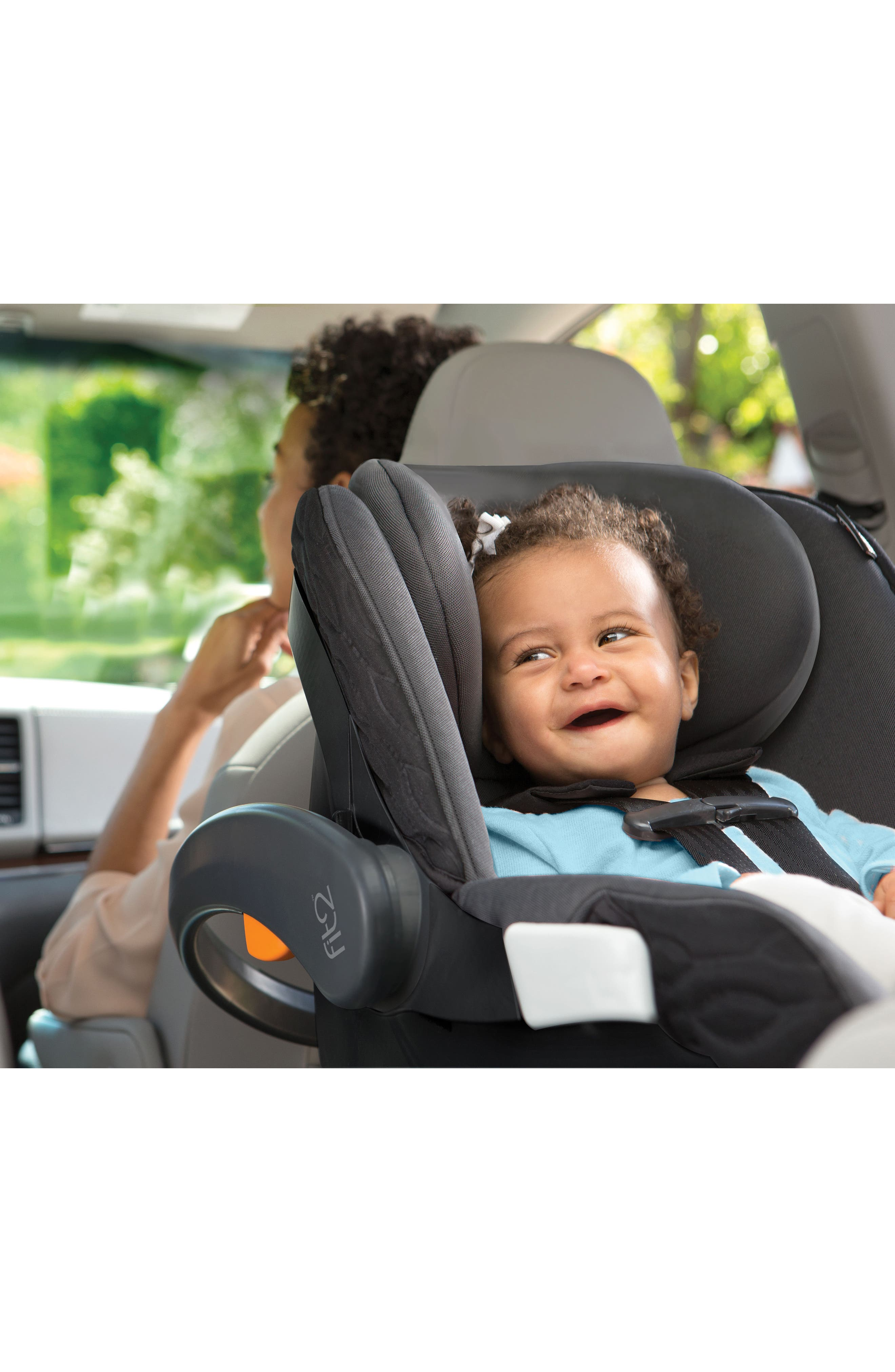 Fit2 2018 Rear-Facing Infant & Toddler Car Seat,                             Alternate thumbnail 4, color,                             001
