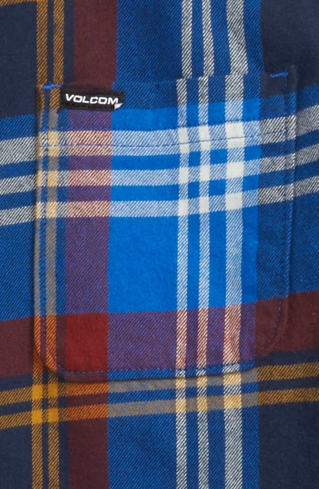 Caden Plaid Flannel Shirt,                             Alternate thumbnail 2, color,                             413