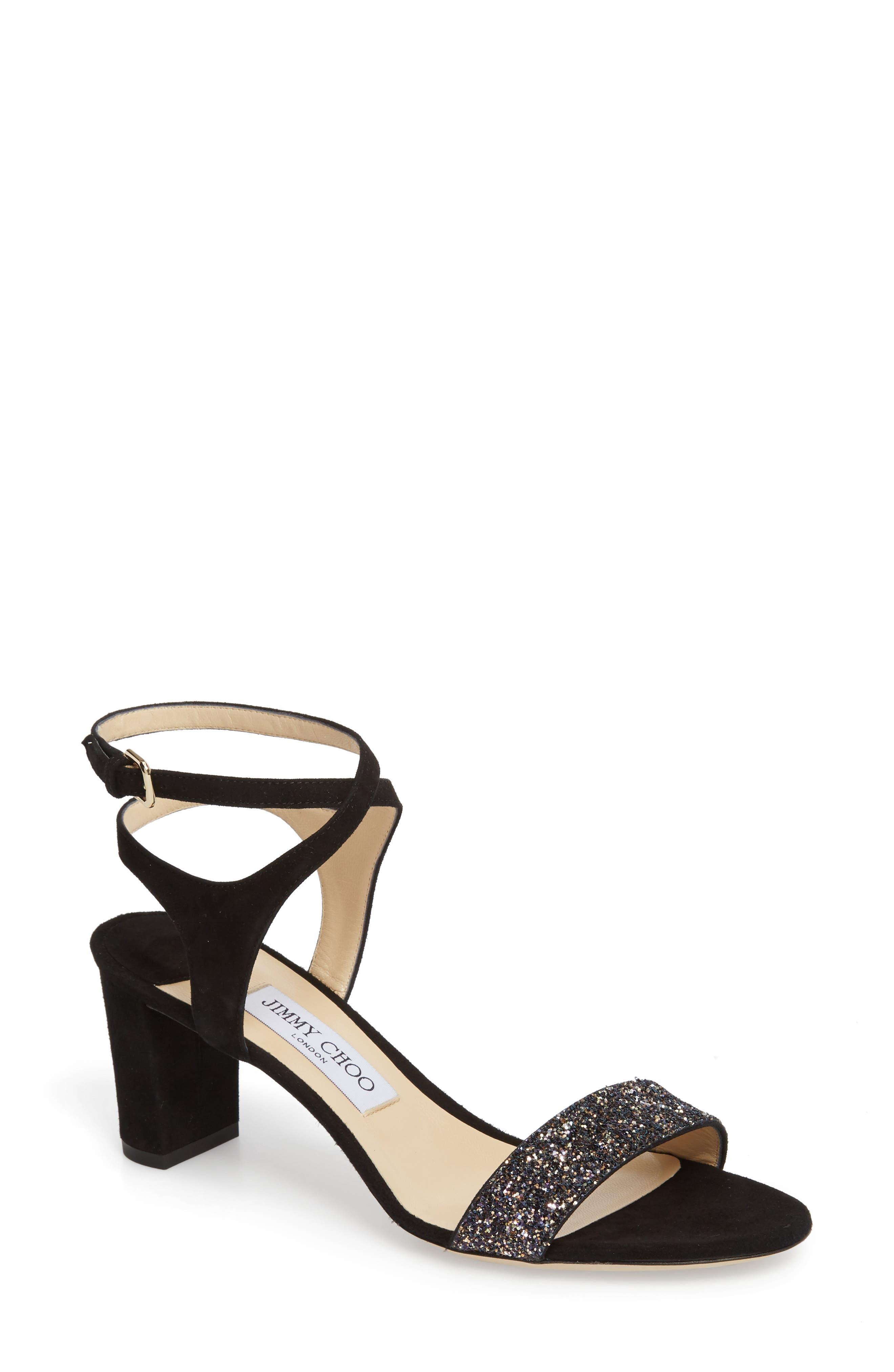 Marine Sandal,                             Main thumbnail 1, color,                             BLACK/ TWILIGHT