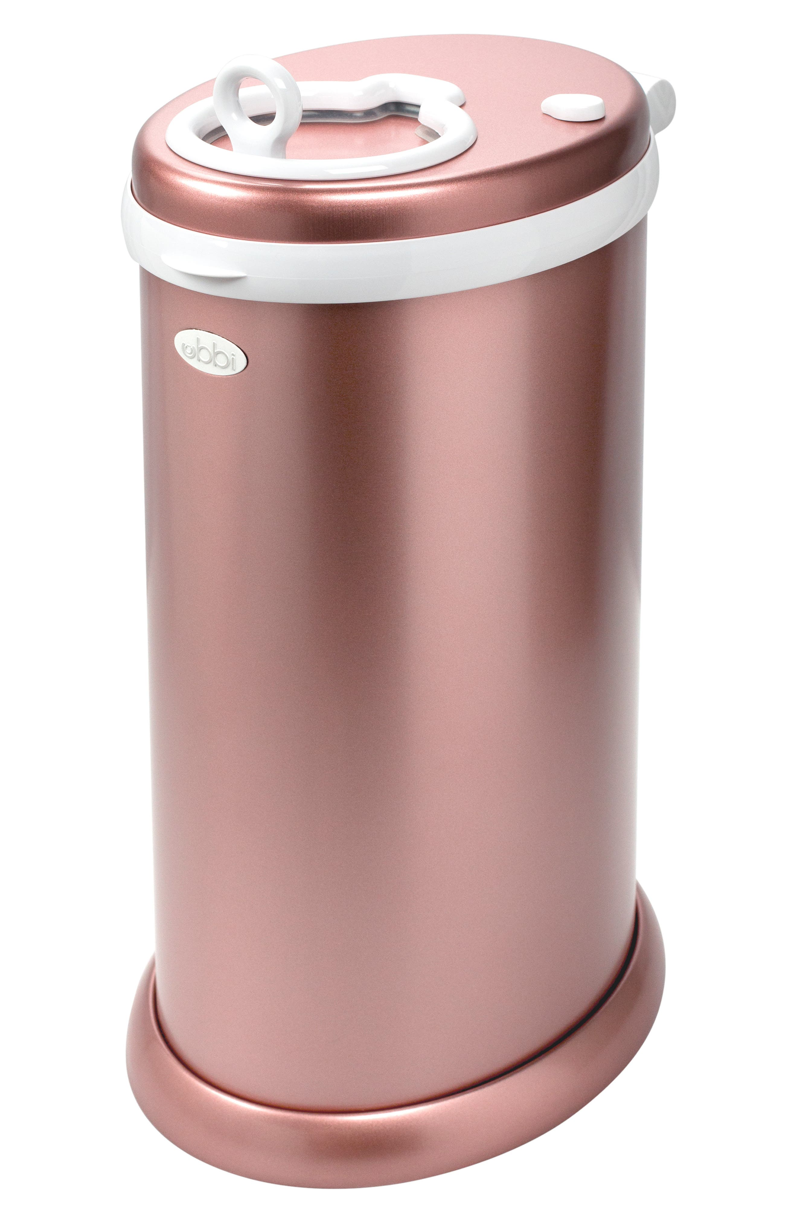 Ubbi Diaper Pail Size One Size  Pink