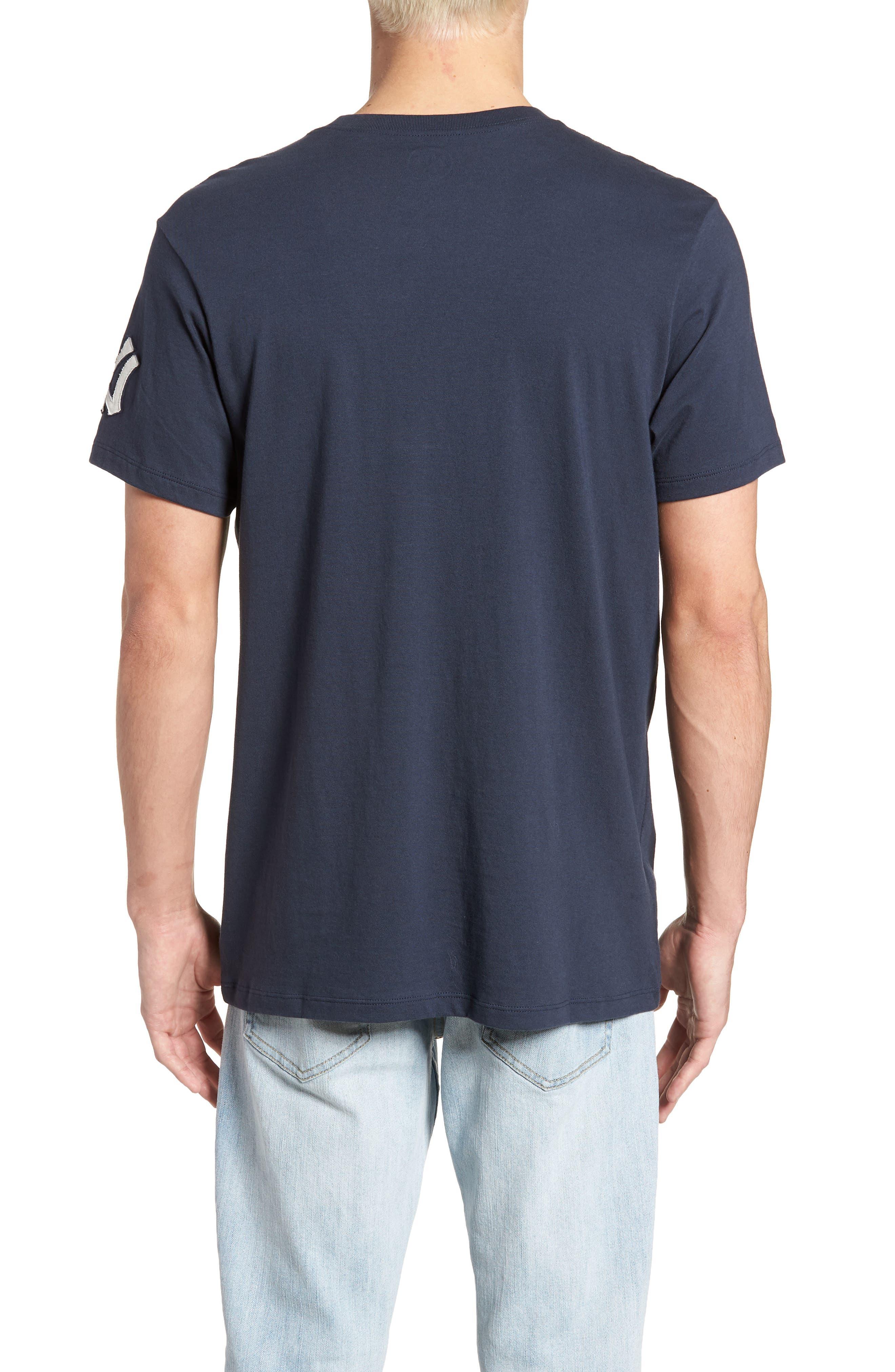 MLB Vintage Fieldhouse New York Yankees T-Shirt,                             Alternate thumbnail 2, color,                             MIDNIGHT