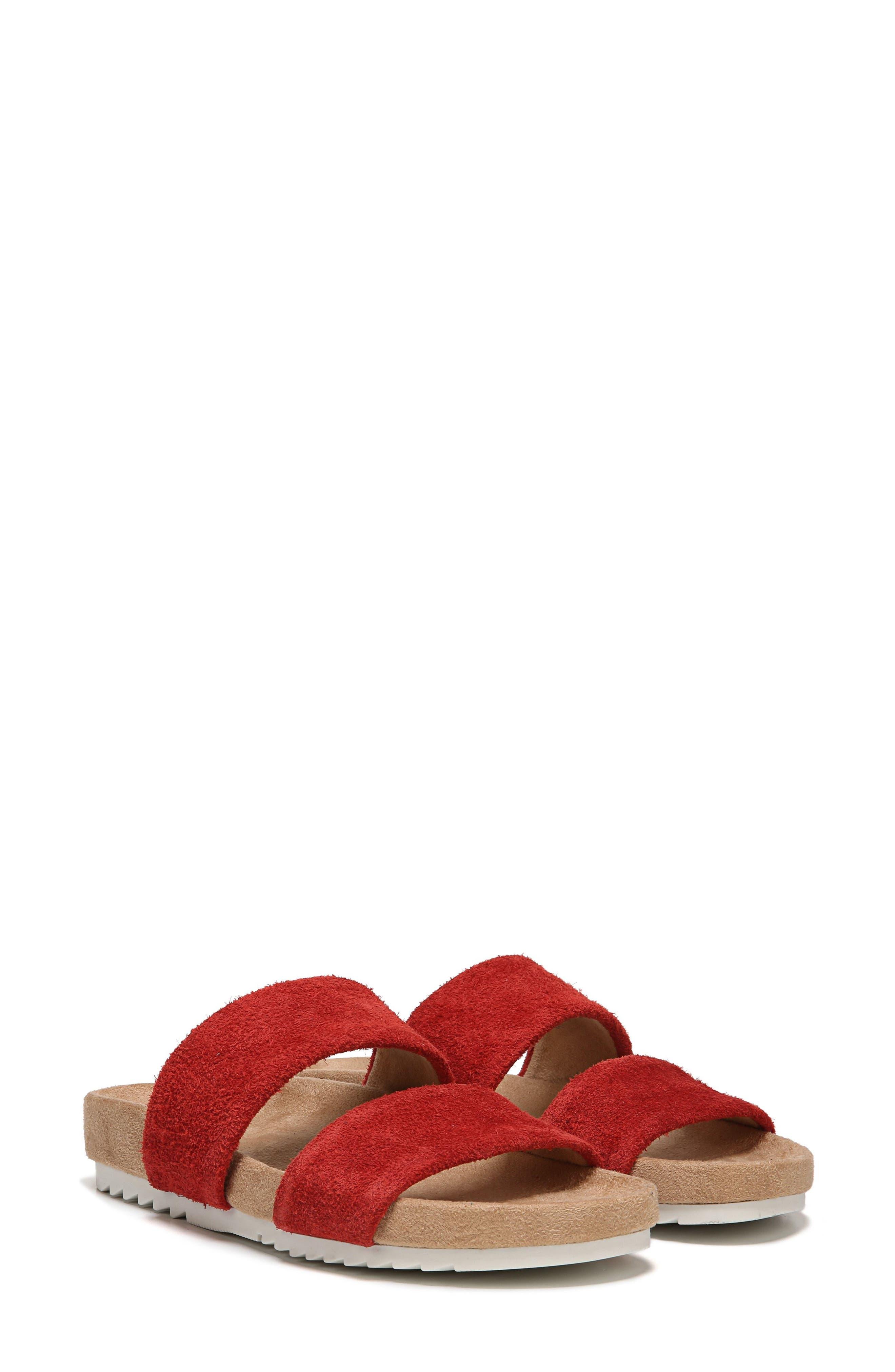 Naturalizer Amabella Slide Sandal- Red