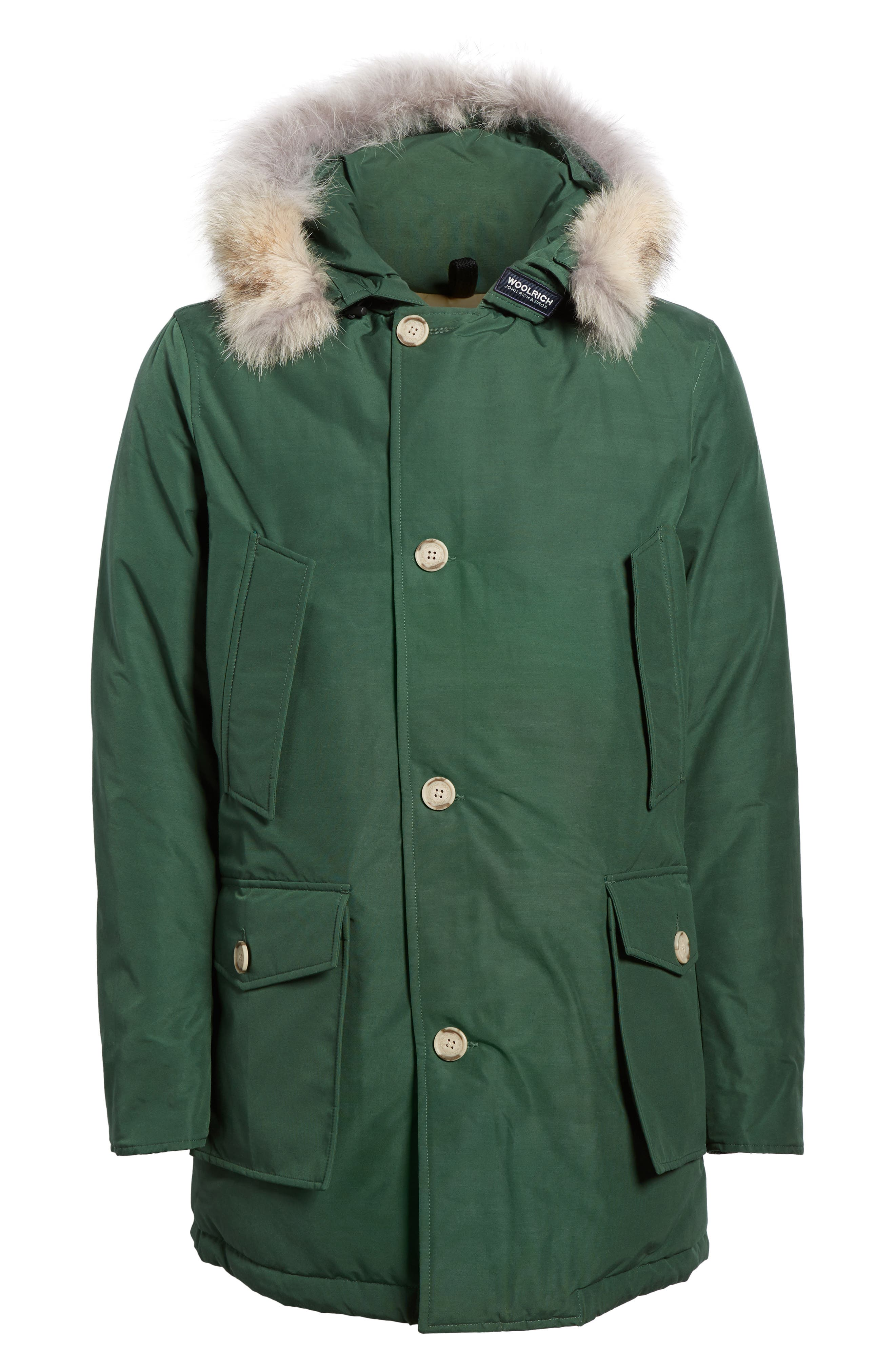 John Rich & Bros. Arctic Parka with Genuine Coyote Fur Trim,                             Alternate thumbnail 29, color,