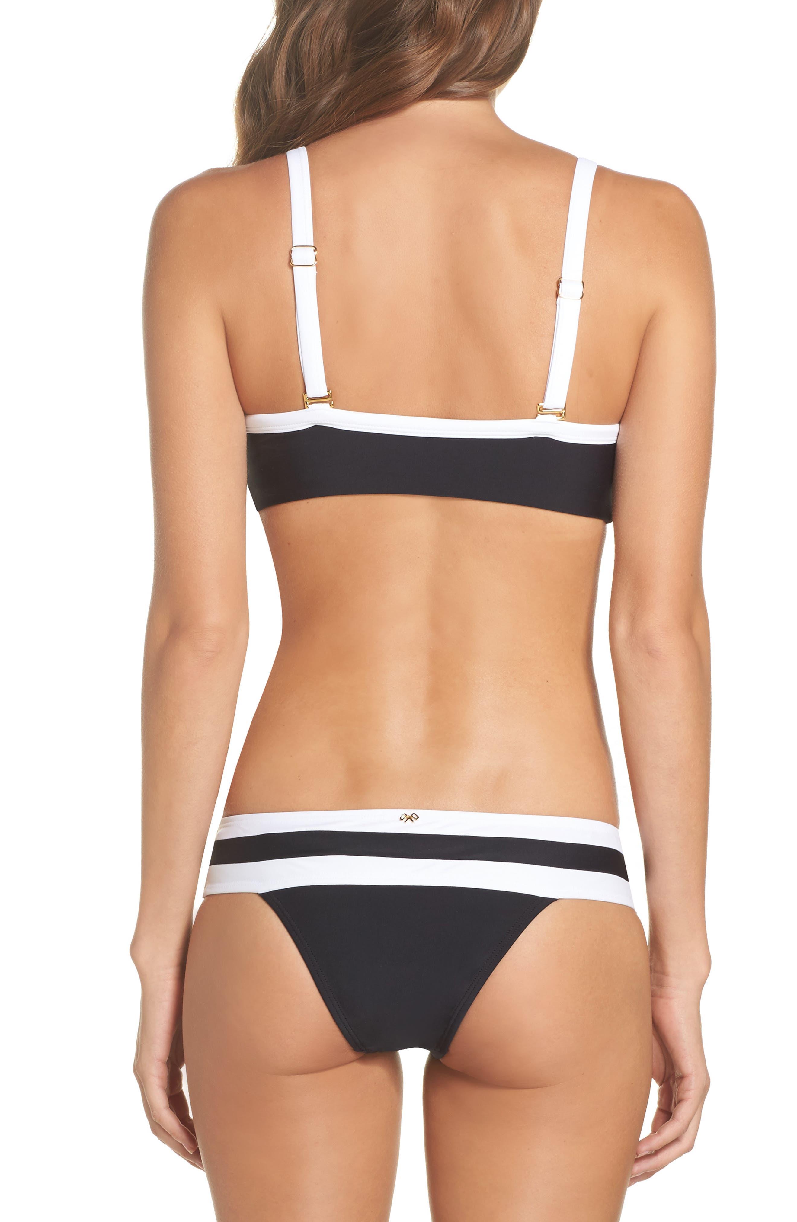 Color Block Halter Bikini Top,                             Alternate thumbnail 8, color,                             400
