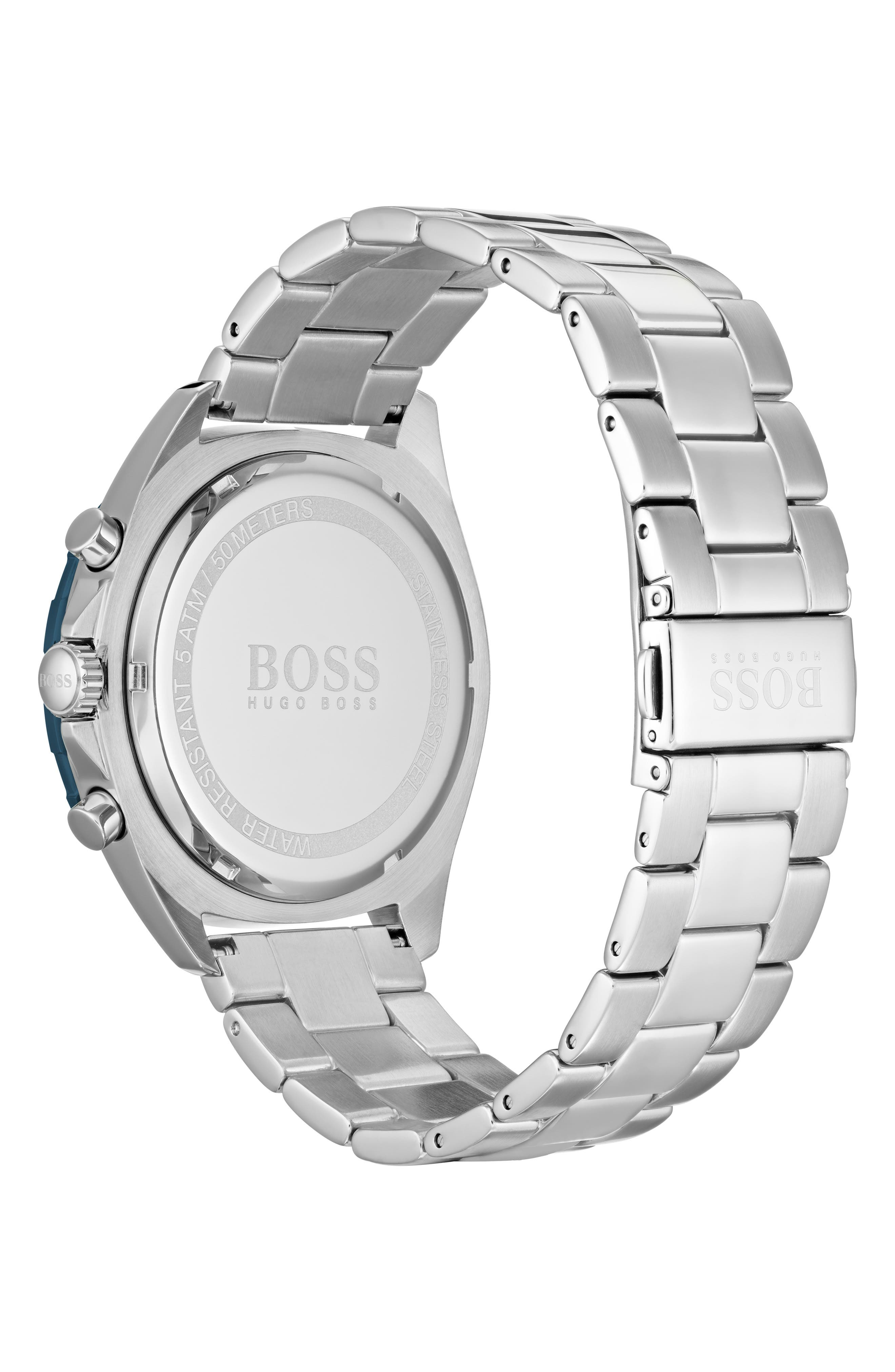 Intensity Chronograph Bracelet Watch, 44mm,                             Alternate thumbnail 2, color,                             BLUE