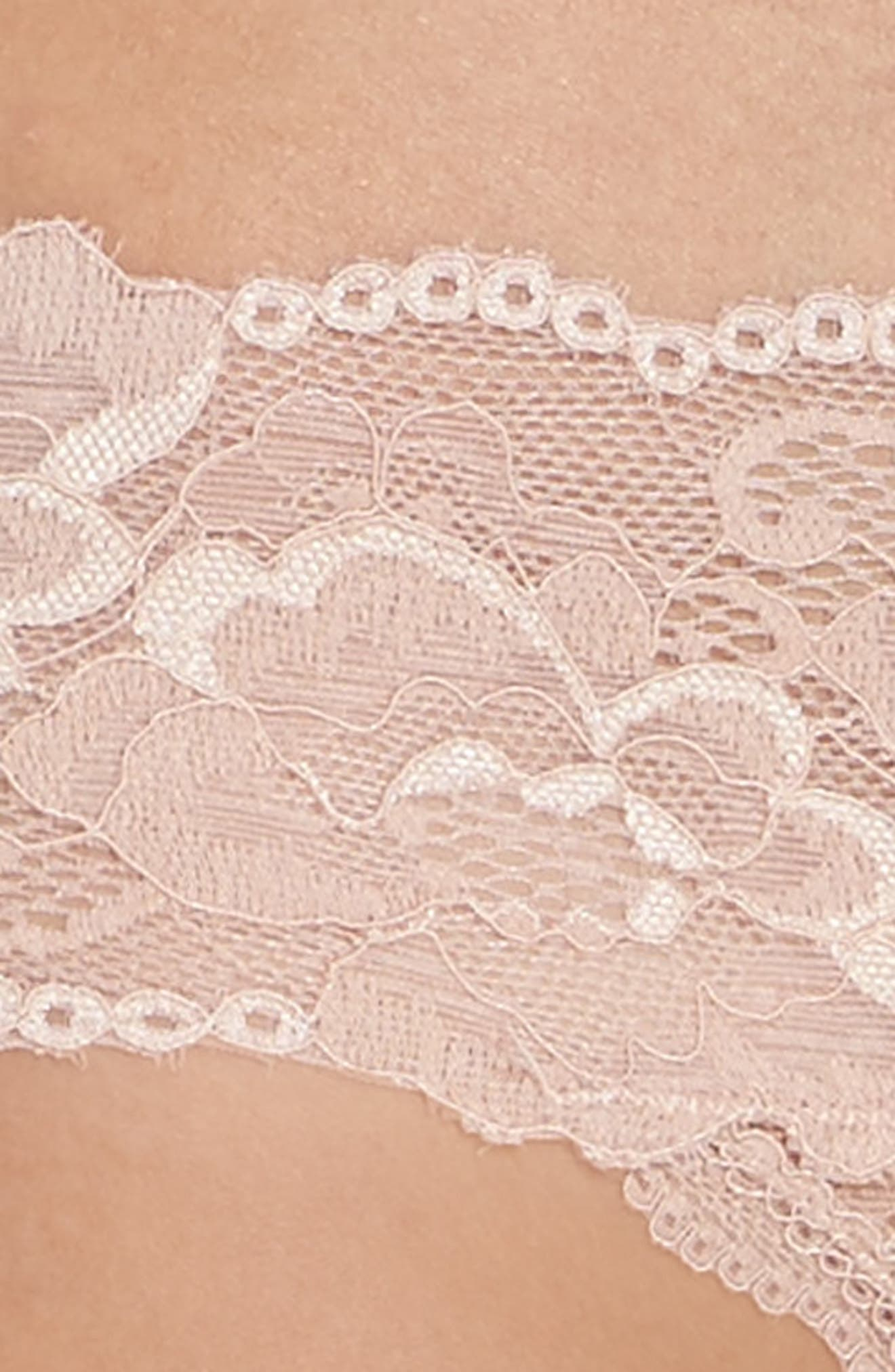 Honeydew Lace Thong,                             Alternate thumbnail 70, color,