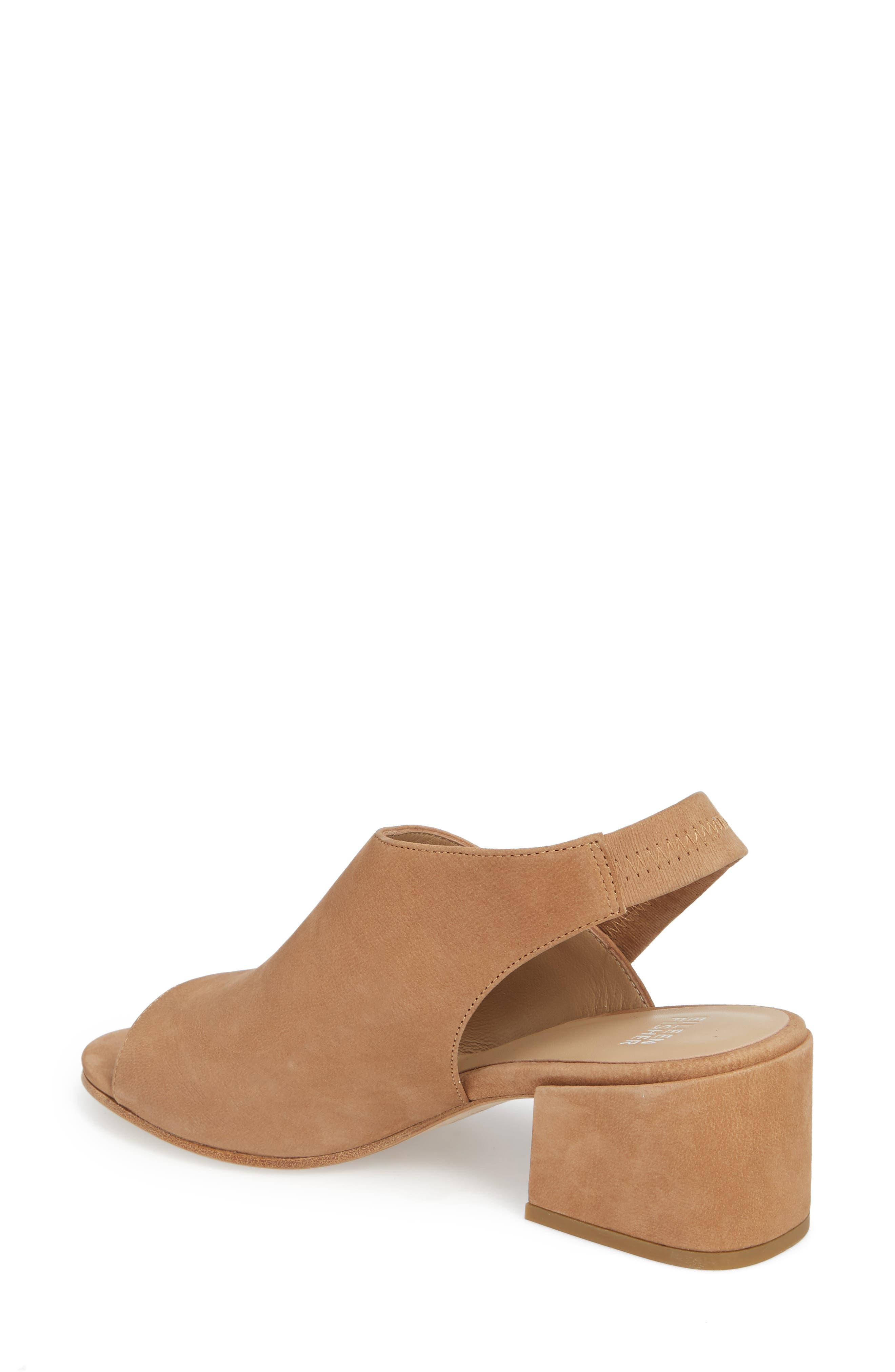 Leigh Asymmetrical Slingback Sandal,                             Alternate thumbnail 5, color,