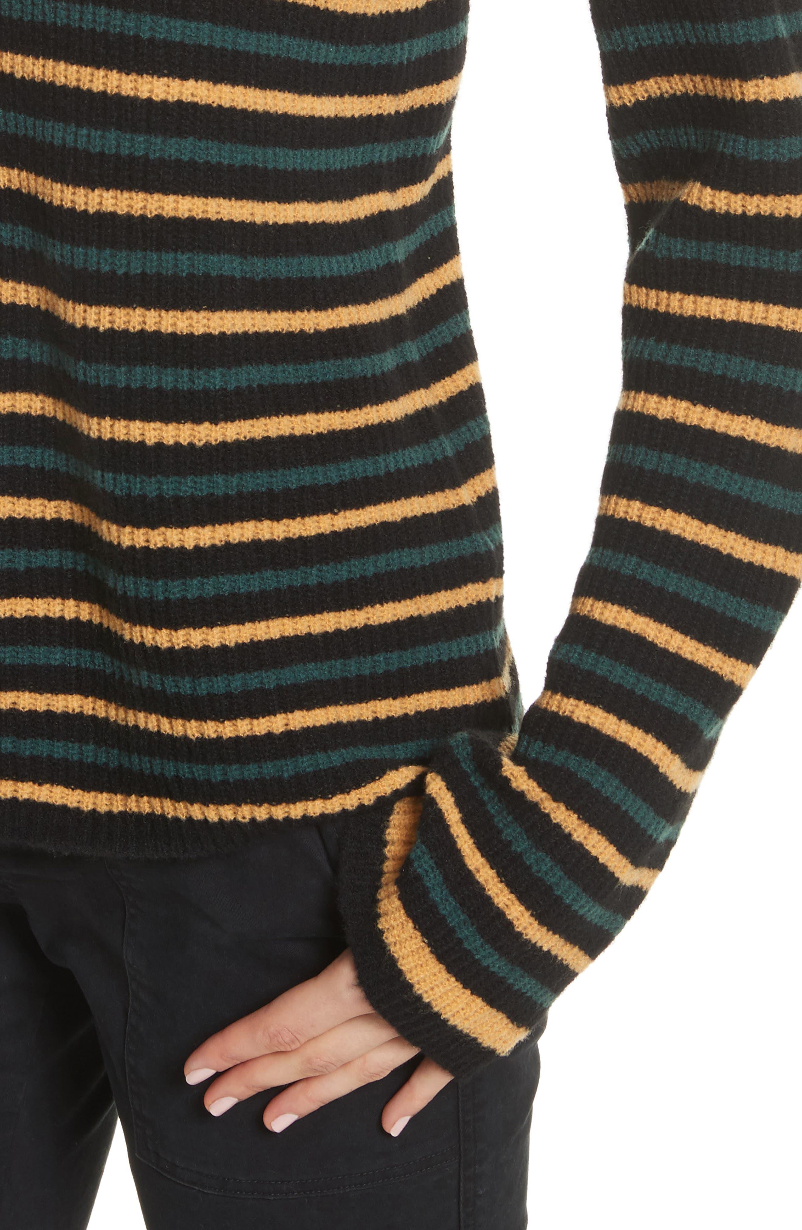 Meryl Stripe Sweater,                             Alternate thumbnail 7, color,