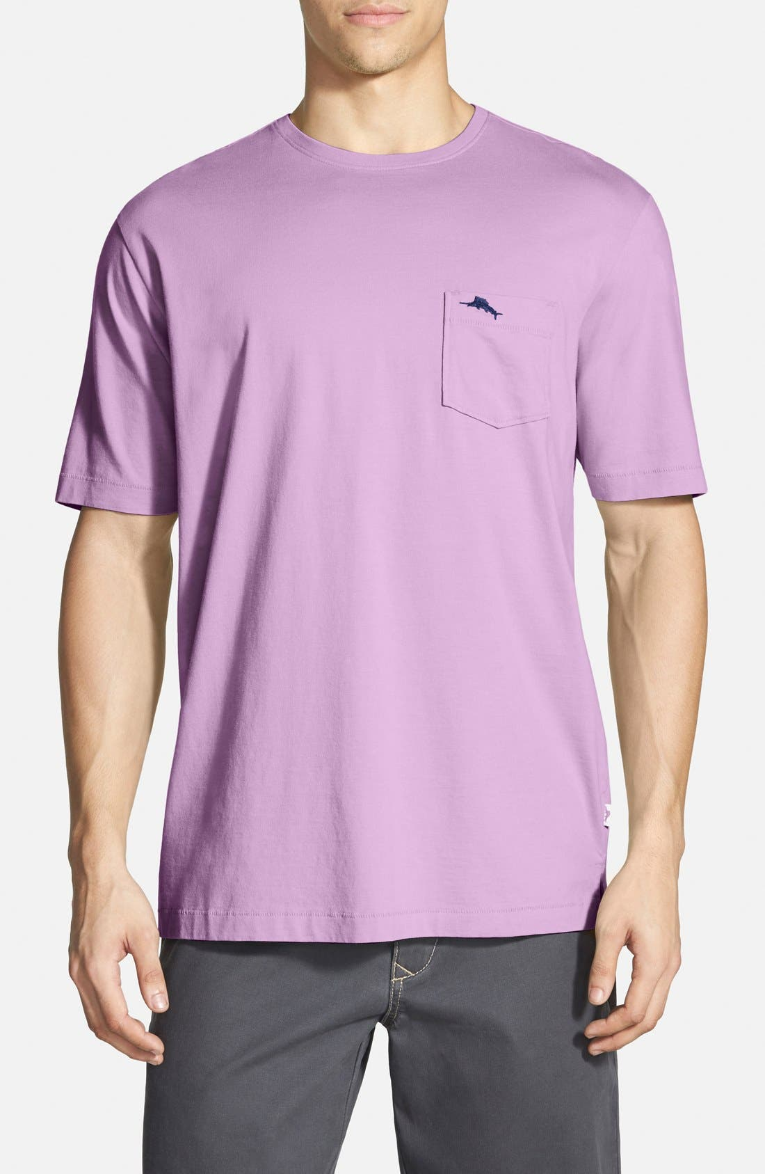 New Bali Sky Pima Cotton Pocket T-Shirt,                             Main thumbnail 41, color,
