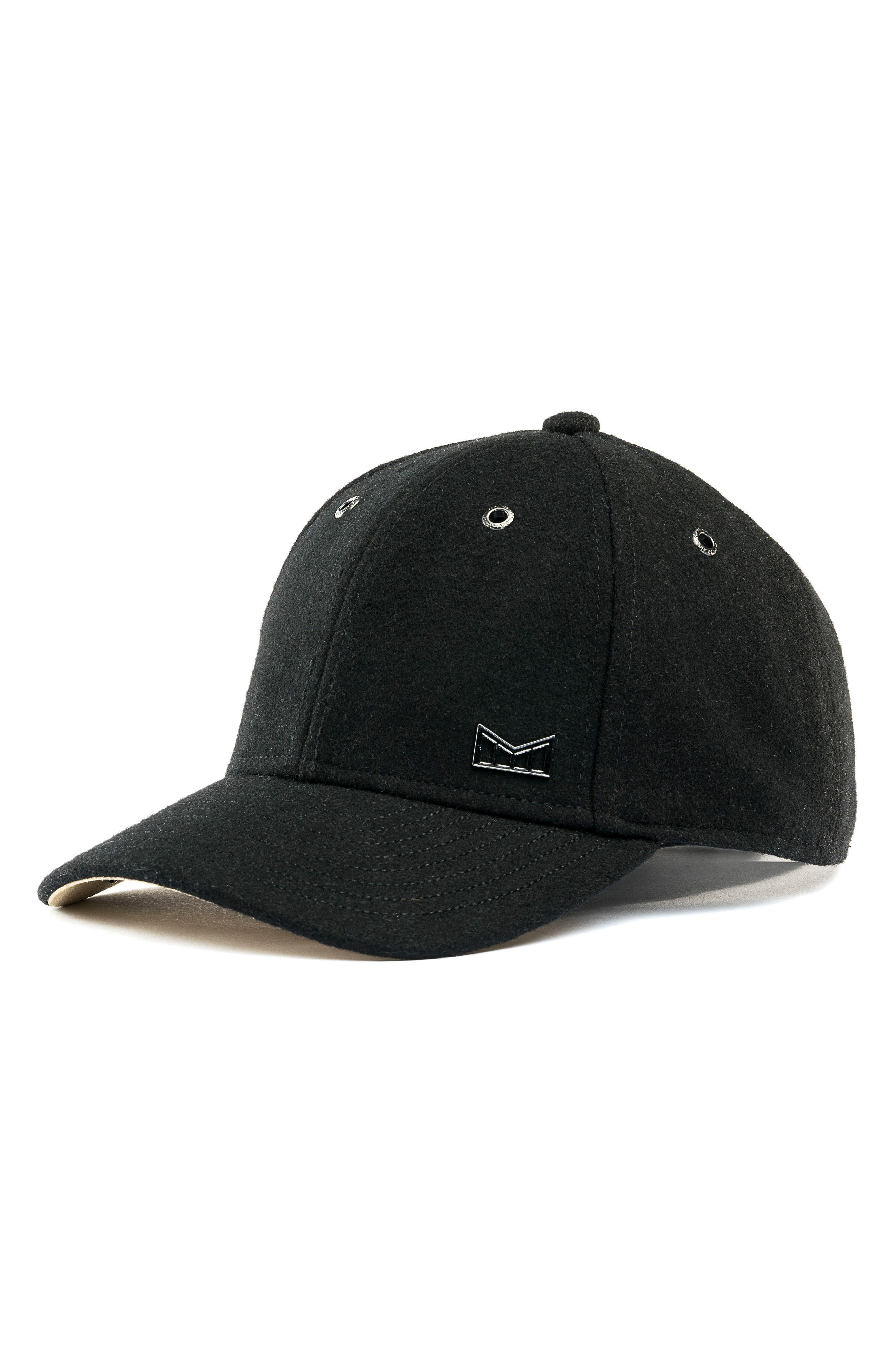 'Glory Days' Strapback Baseball Cap,                             Main thumbnail 1, color,                             BLACK