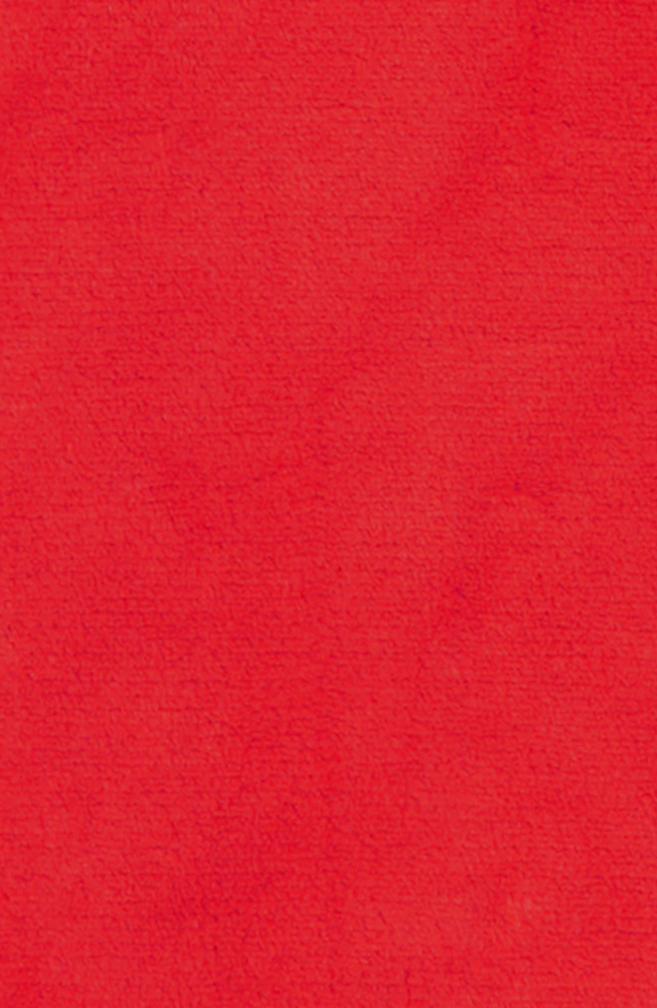 TUCKER + TATE,                             Fleece Sleep Tee,                             Alternate thumbnail 2, color,                             RED BLOOM