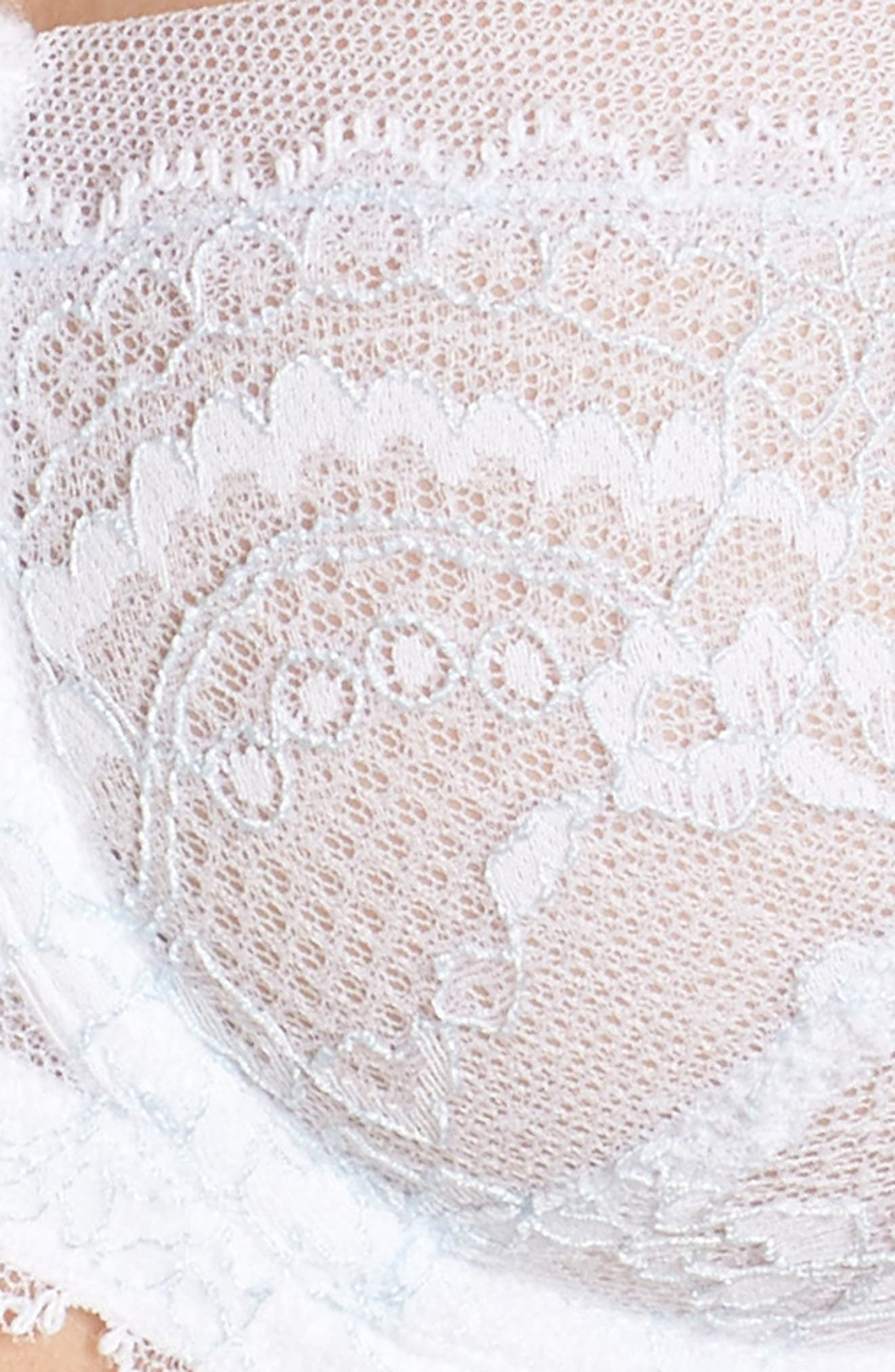 'Minx' Unlined Lace Demi Underwire Bra,                             Alternate thumbnail 76, color,