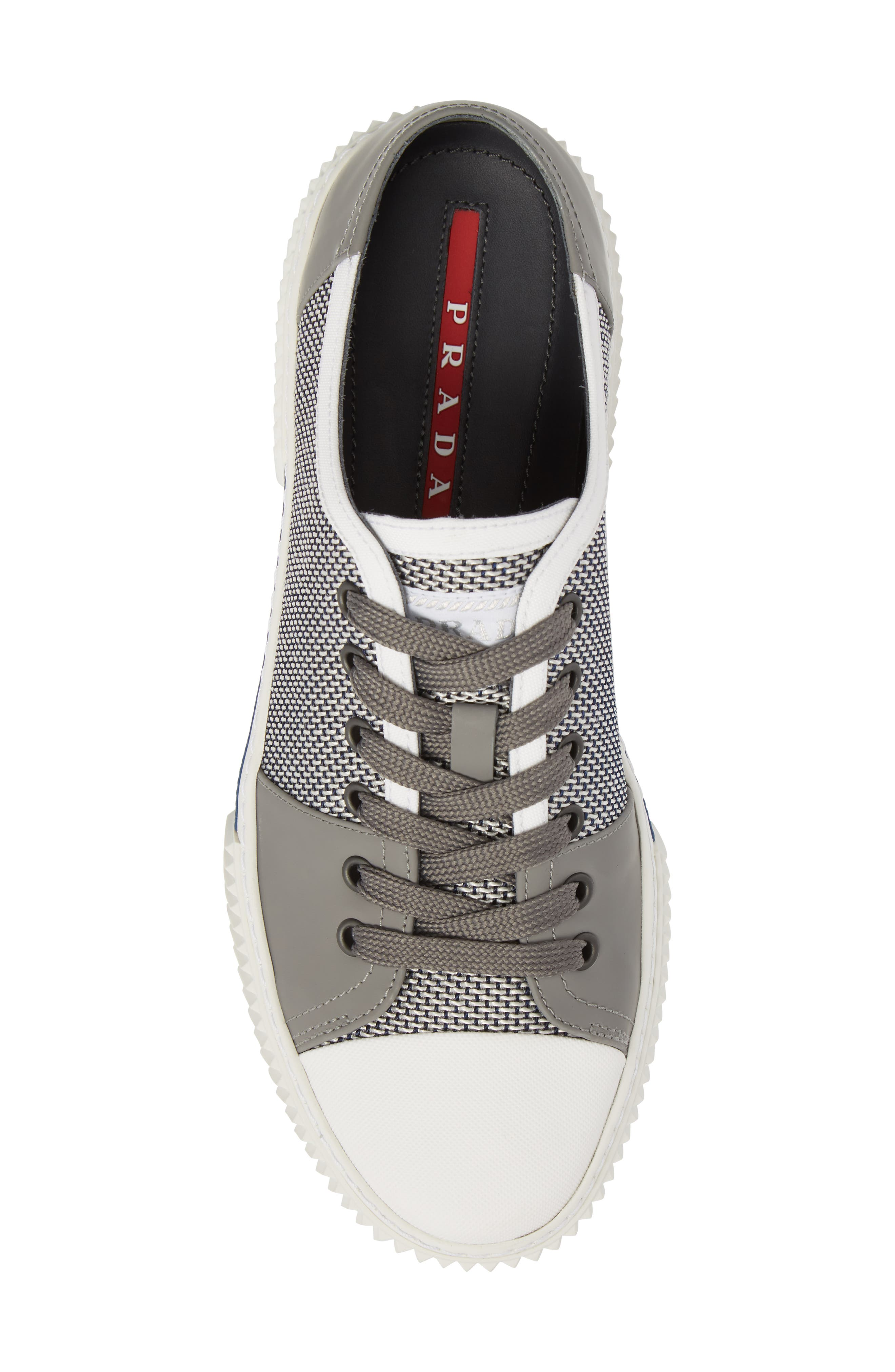 Linea Rossa Low-Top Sneaker,                             Alternate thumbnail 5, color,                             122