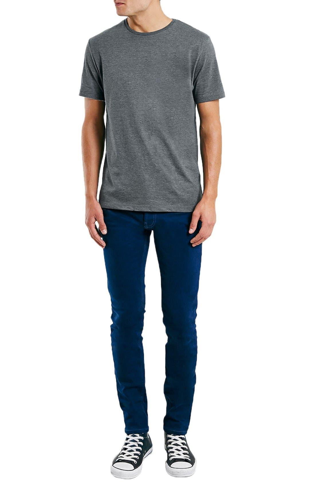 Slim Fit Crewneck T-Shirt,                             Alternate thumbnail 227, color,