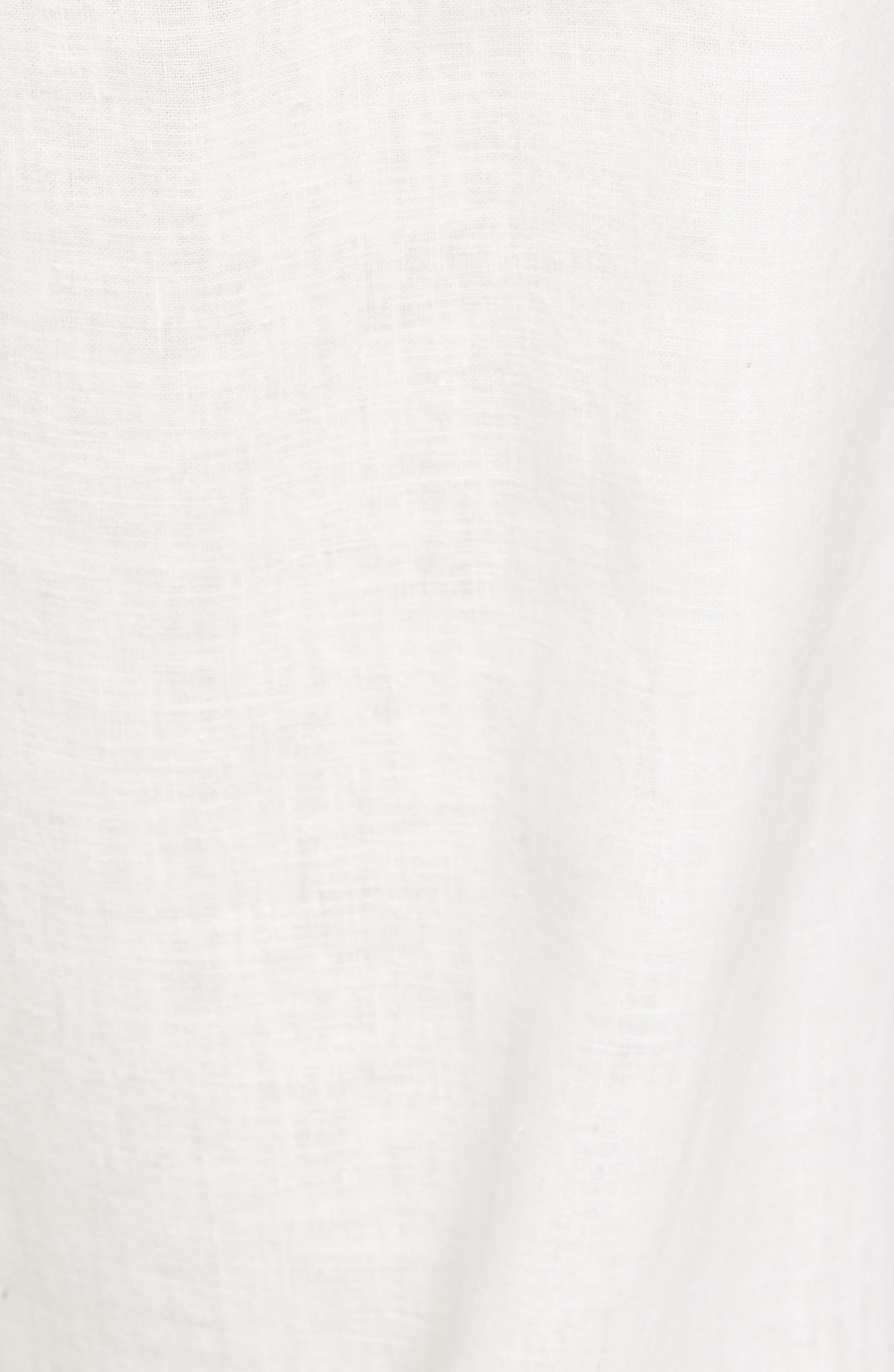 Walker Cotton & Linen Lounge Pants,                             Alternate thumbnail 5, color,                             NEVIS/ BRIGHT NAVY