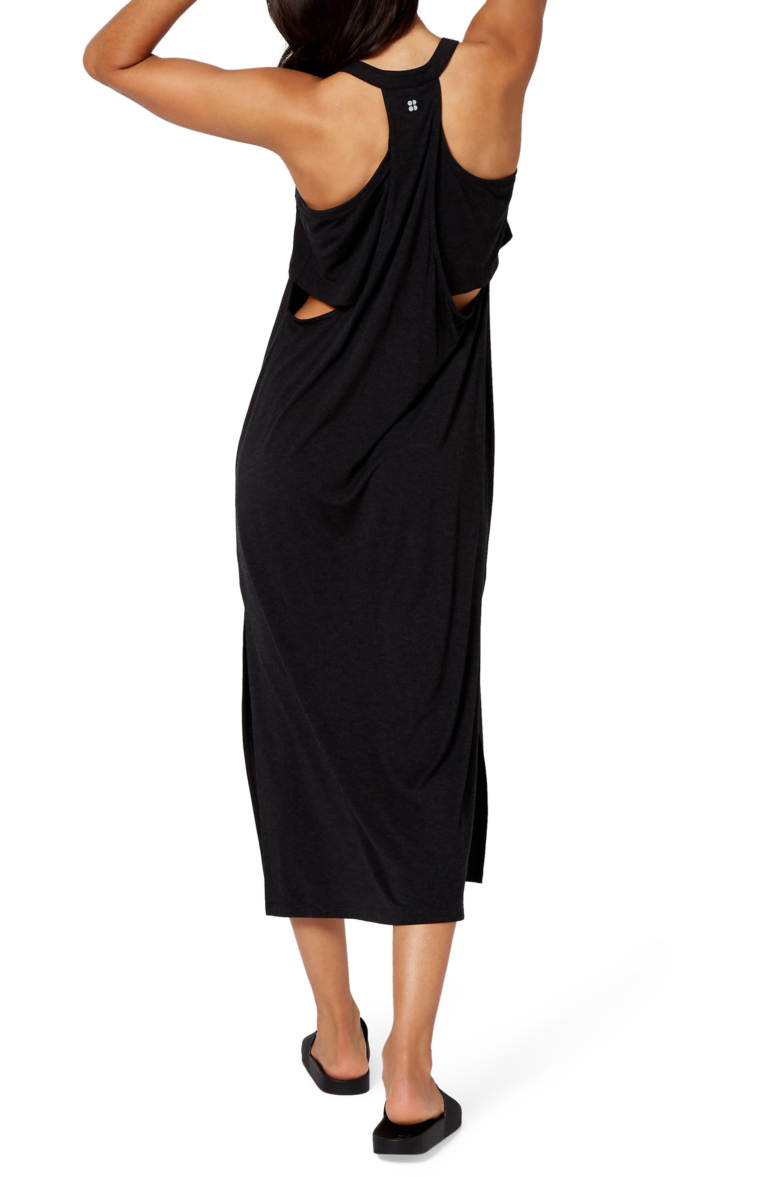 Holistic Dress,                             Alternate thumbnail 2, color,                             BLACK MARL