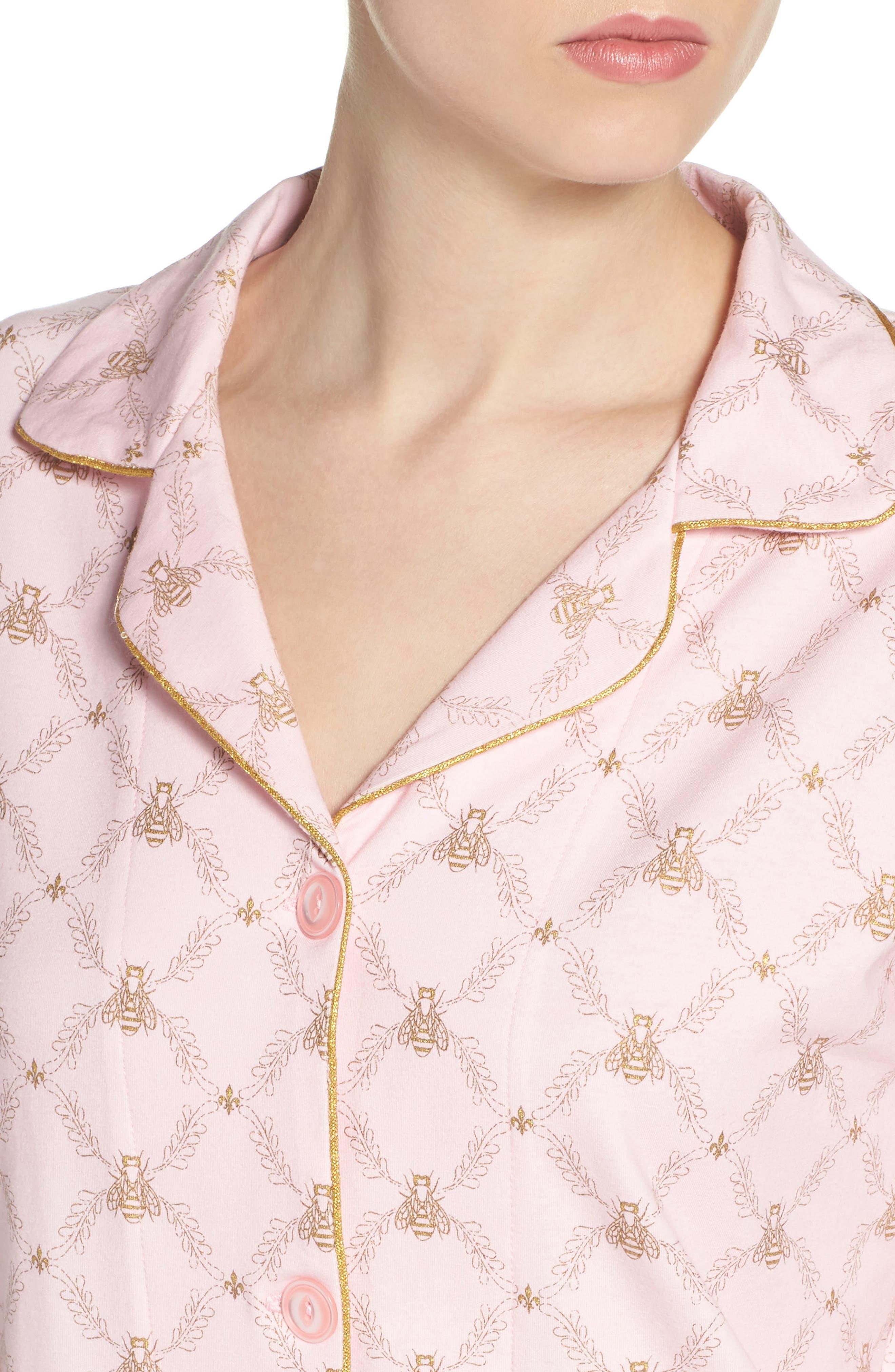 Print Pajamas,                             Alternate thumbnail 4, color,                             955