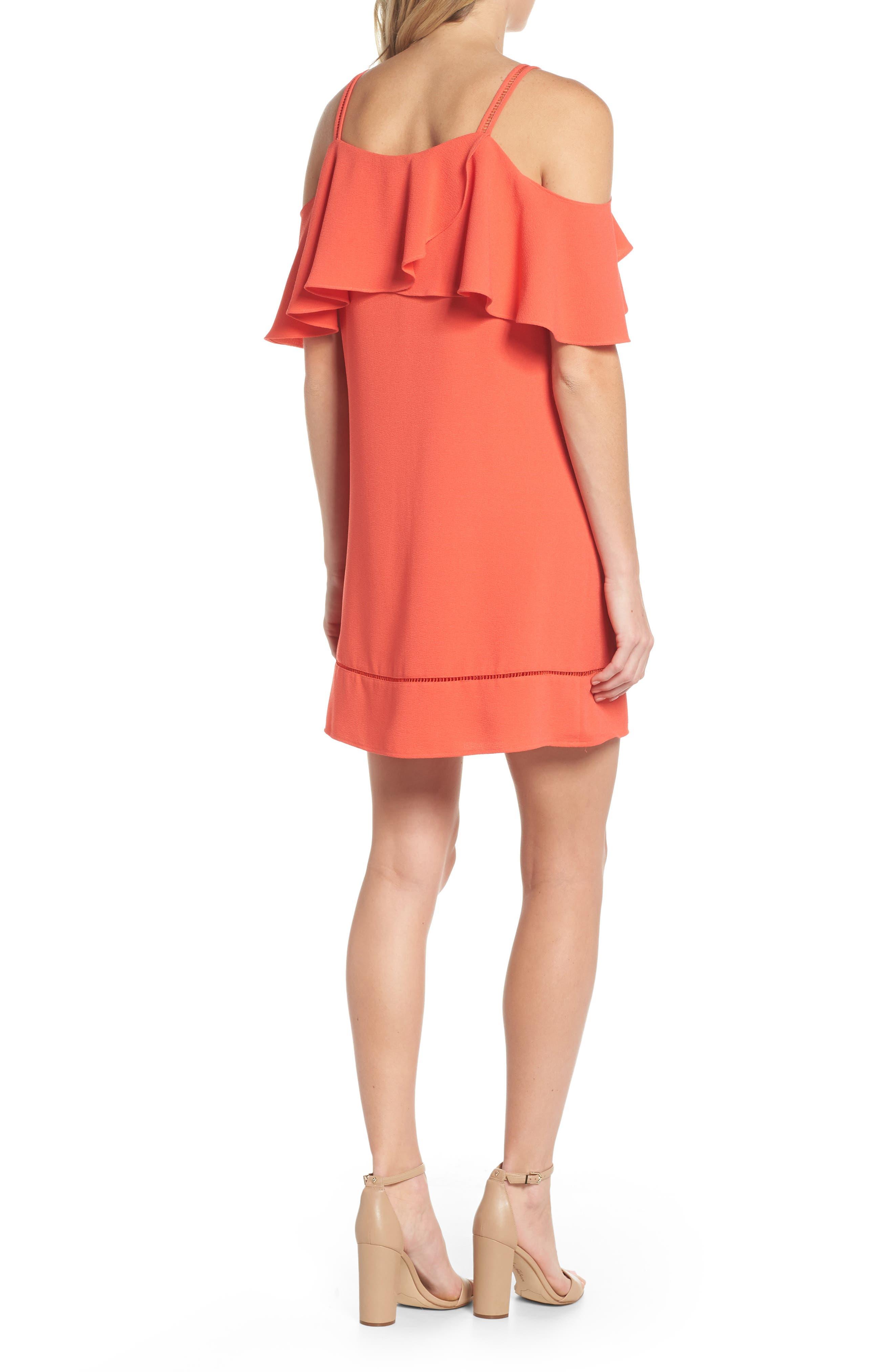 Cold Shoulder Dress,                             Alternate thumbnail 2, color,                             950