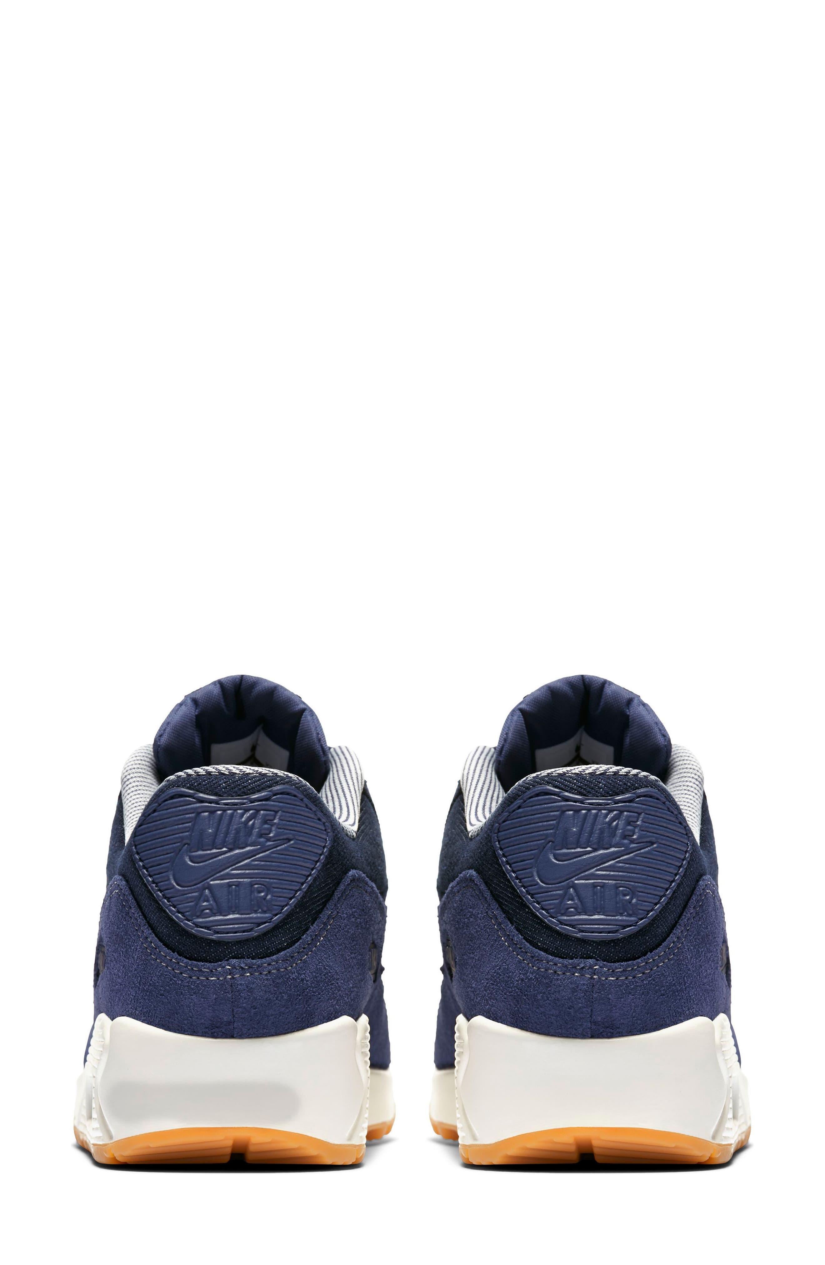 Air Max 90 SE Sneaker,                             Alternate thumbnail 16, color,