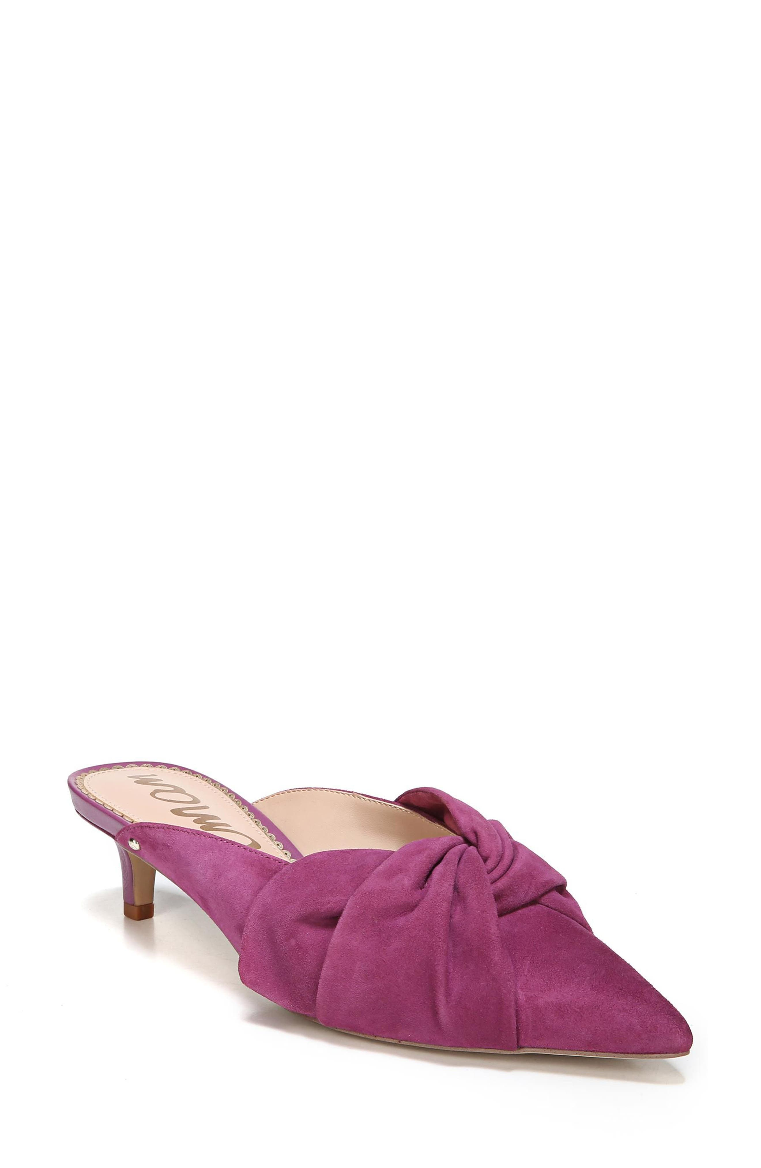 Laney Pointy Toe Mule,                             Main thumbnail 4, color,