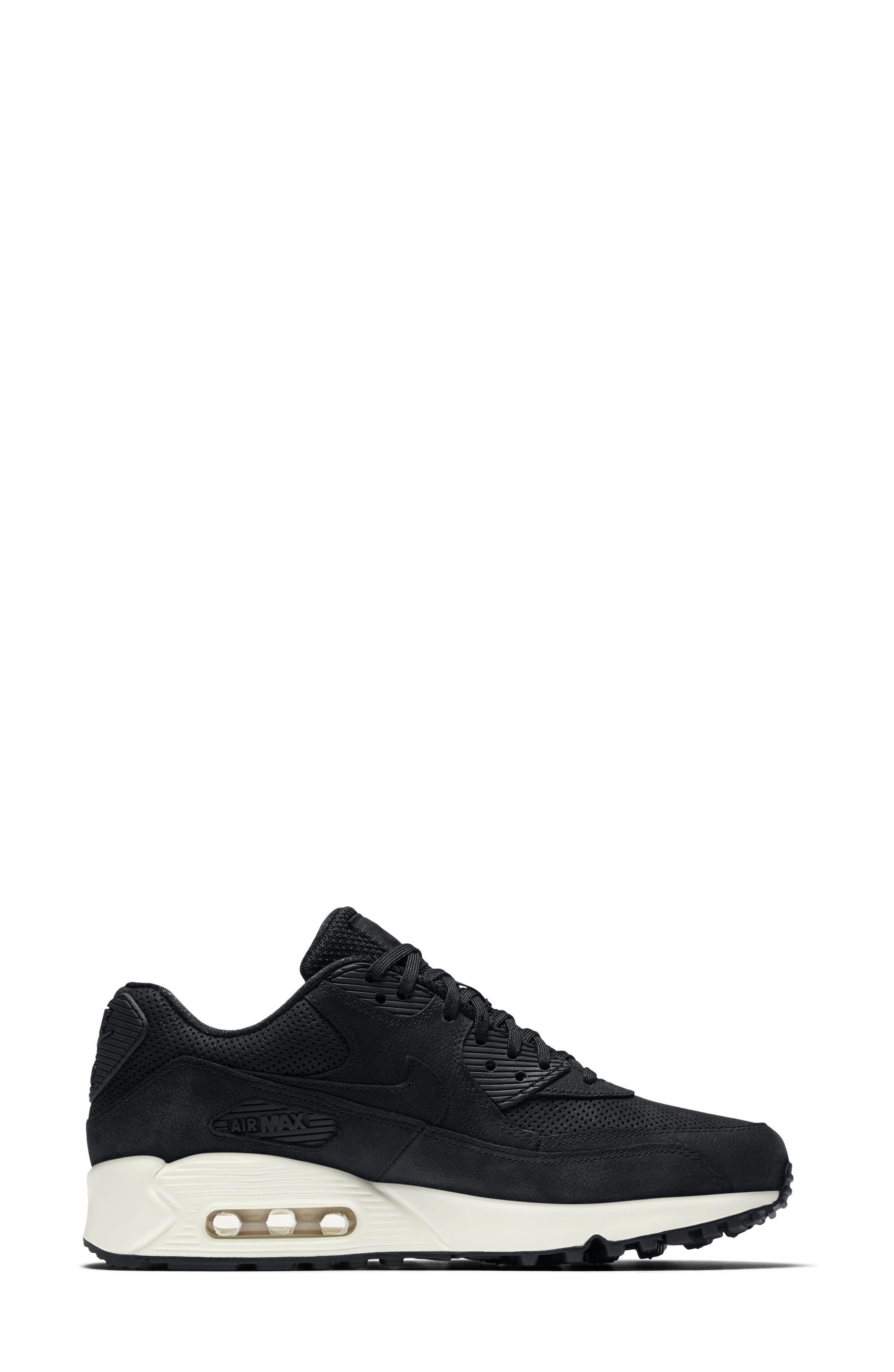 Air Max 90 Pinnacle Sneaker,                             Alternate thumbnail 3, color,                             006