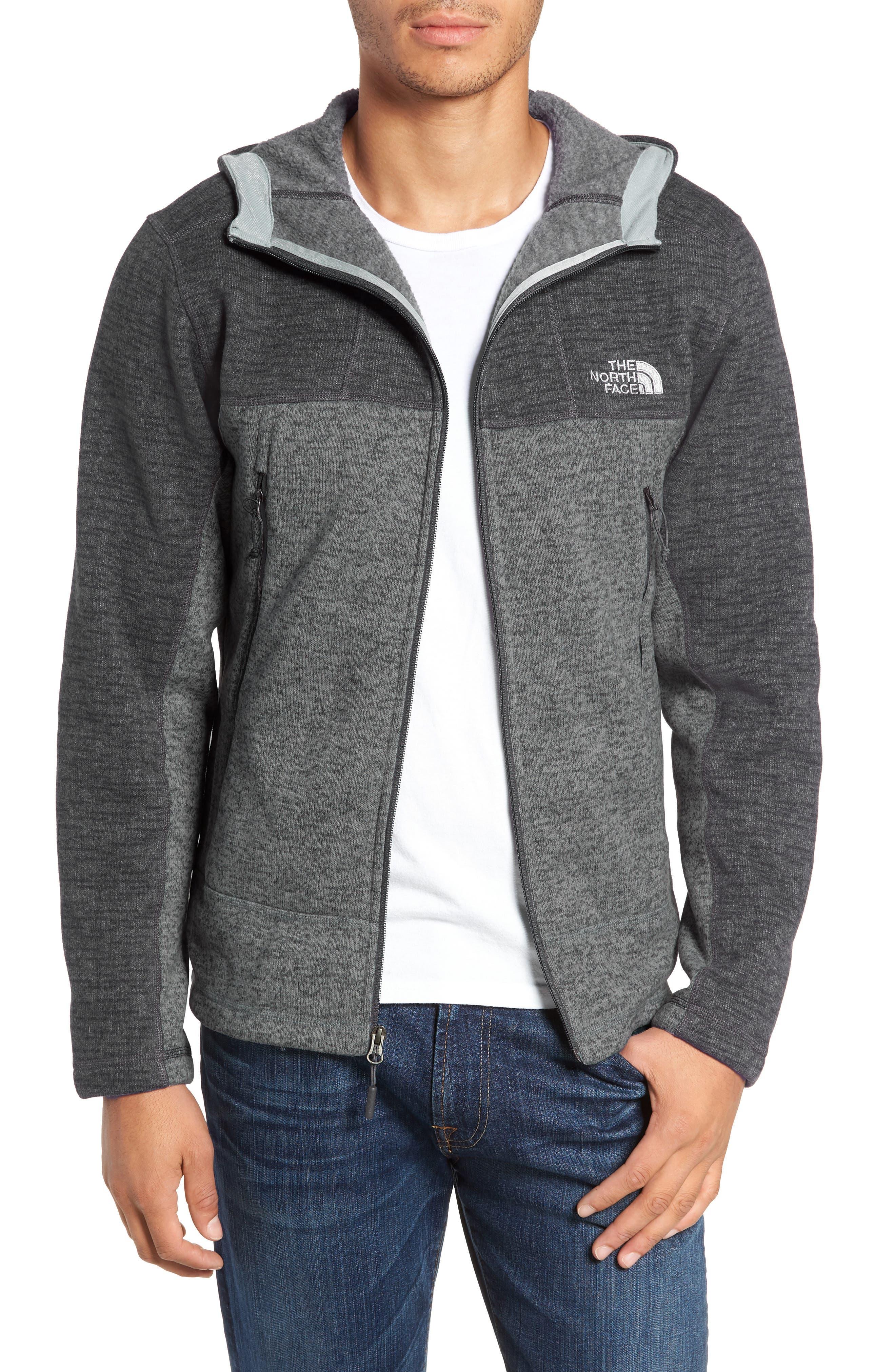 Gordon Lyons Alpine Sweater Fleece Hoodie,                             Alternate thumbnail 4, color,                             ASPHALT GREY/ MONUMENT GREY