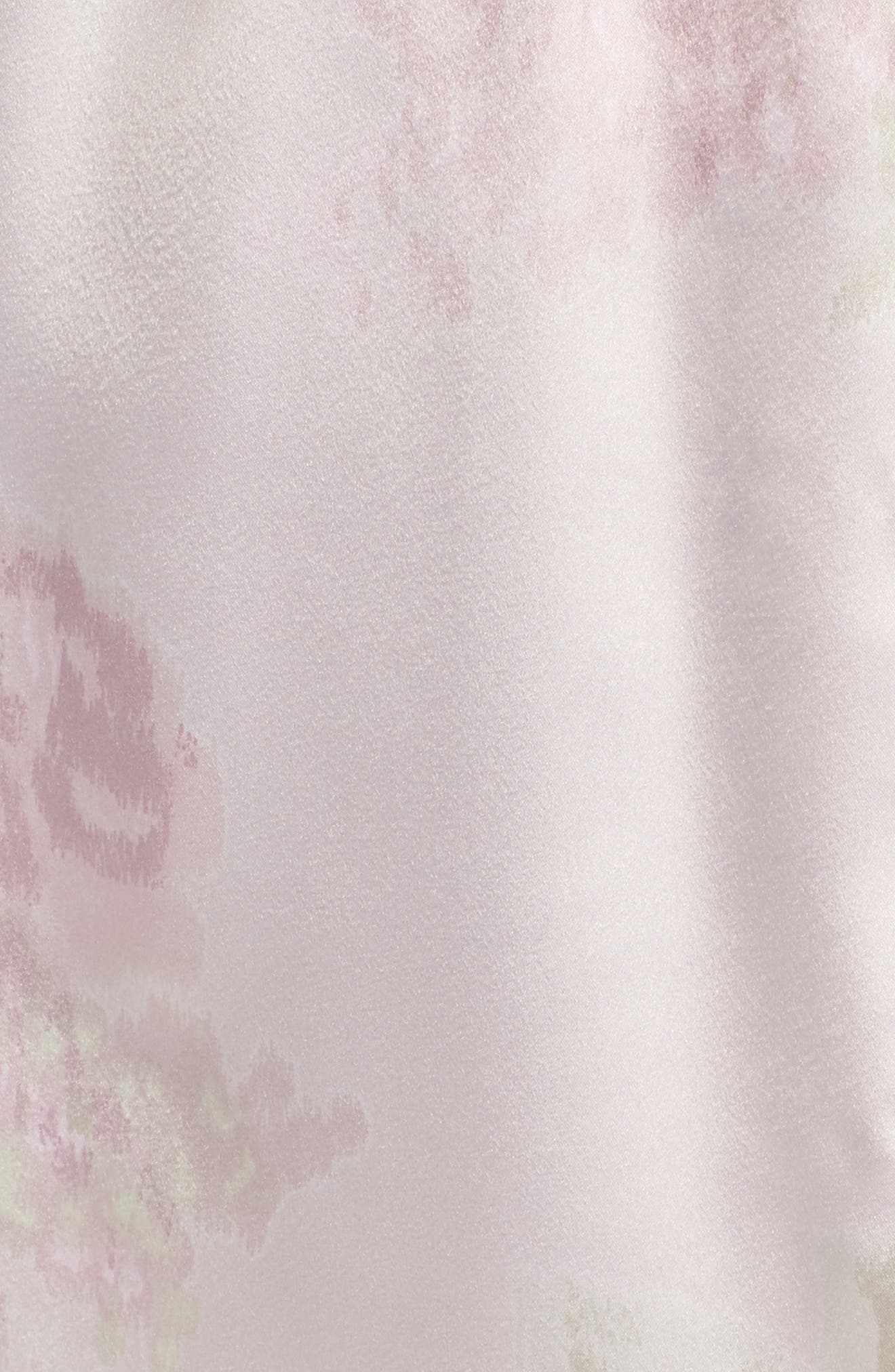 Lace & Satin Robe,                             Alternate thumbnail 5, color,                             654