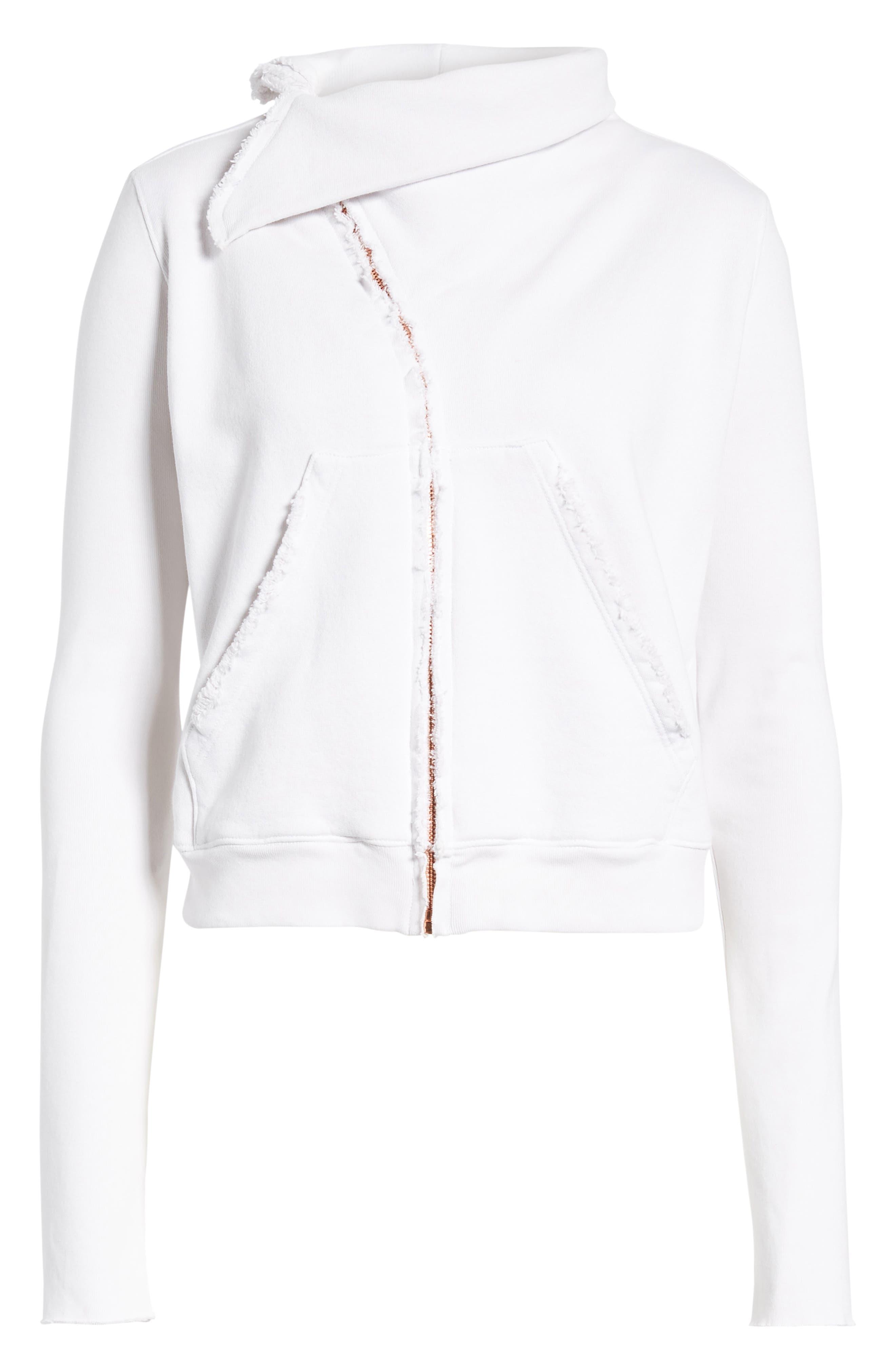 Zip Fleece Jacket,                             Alternate thumbnail 6, color,