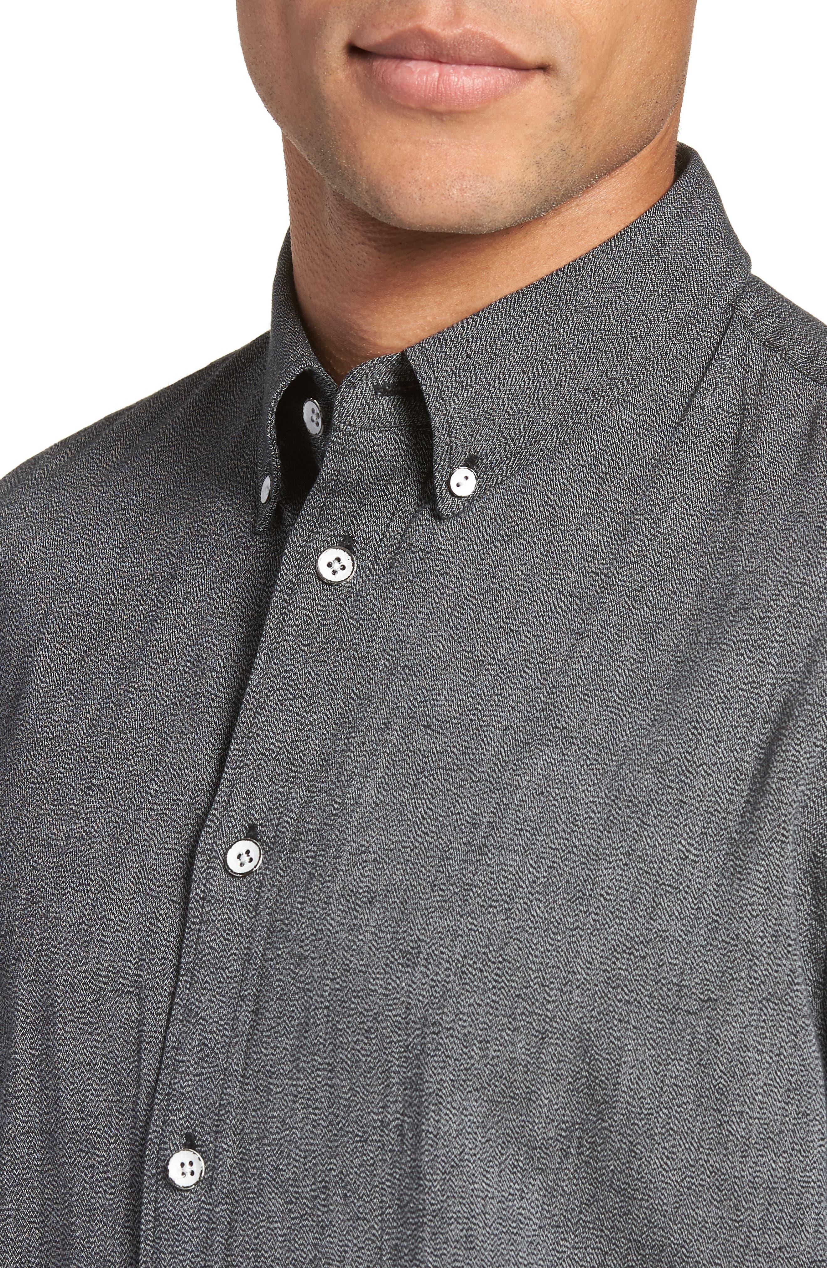 RAG & BONE,                             Tomlin Slim Fit Sport Shirt,                             Alternate thumbnail 4, color,                             020