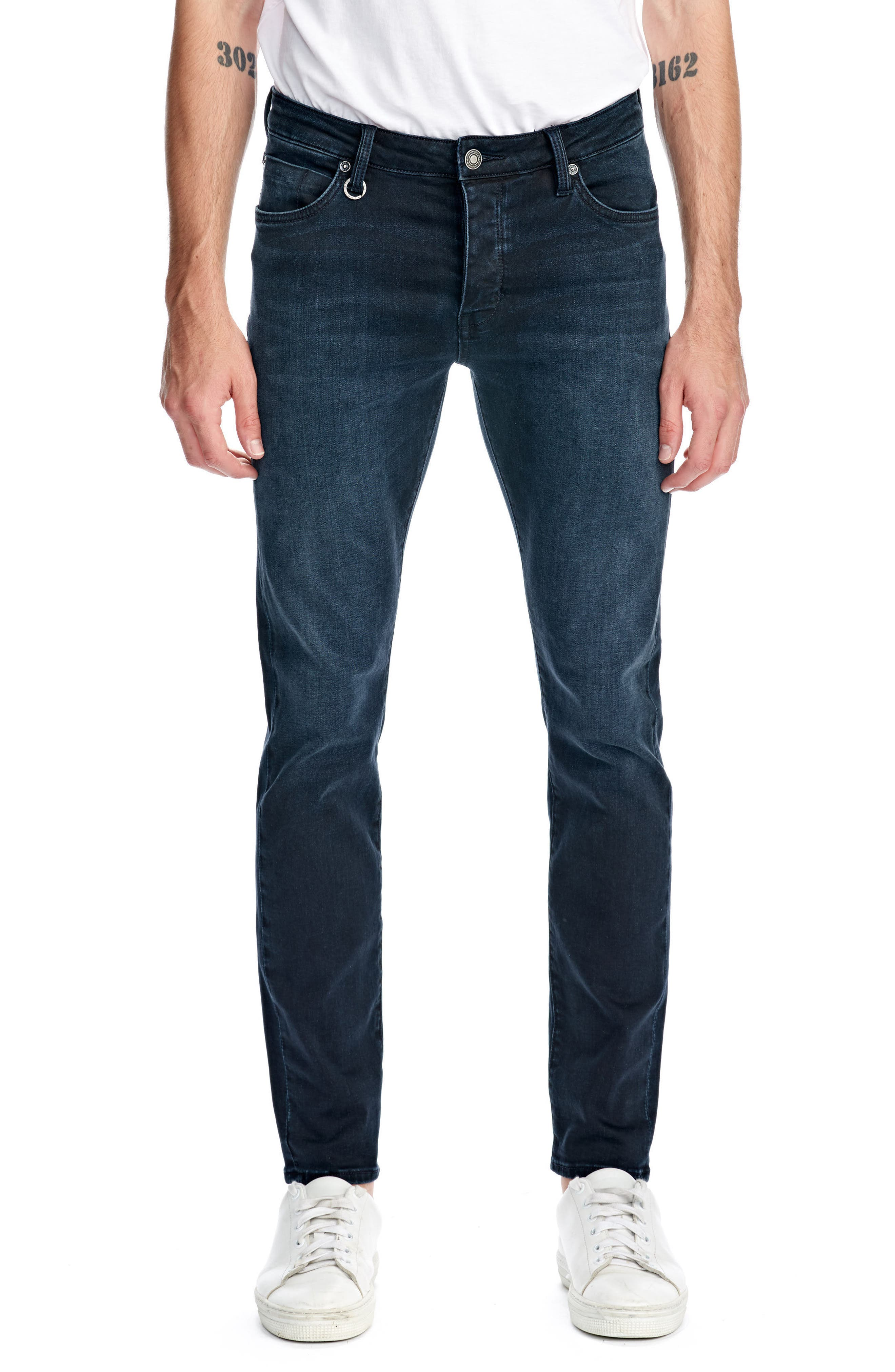 Iggy Skinny Fit Jeans,                             Main thumbnail 1, color,                             POLAR