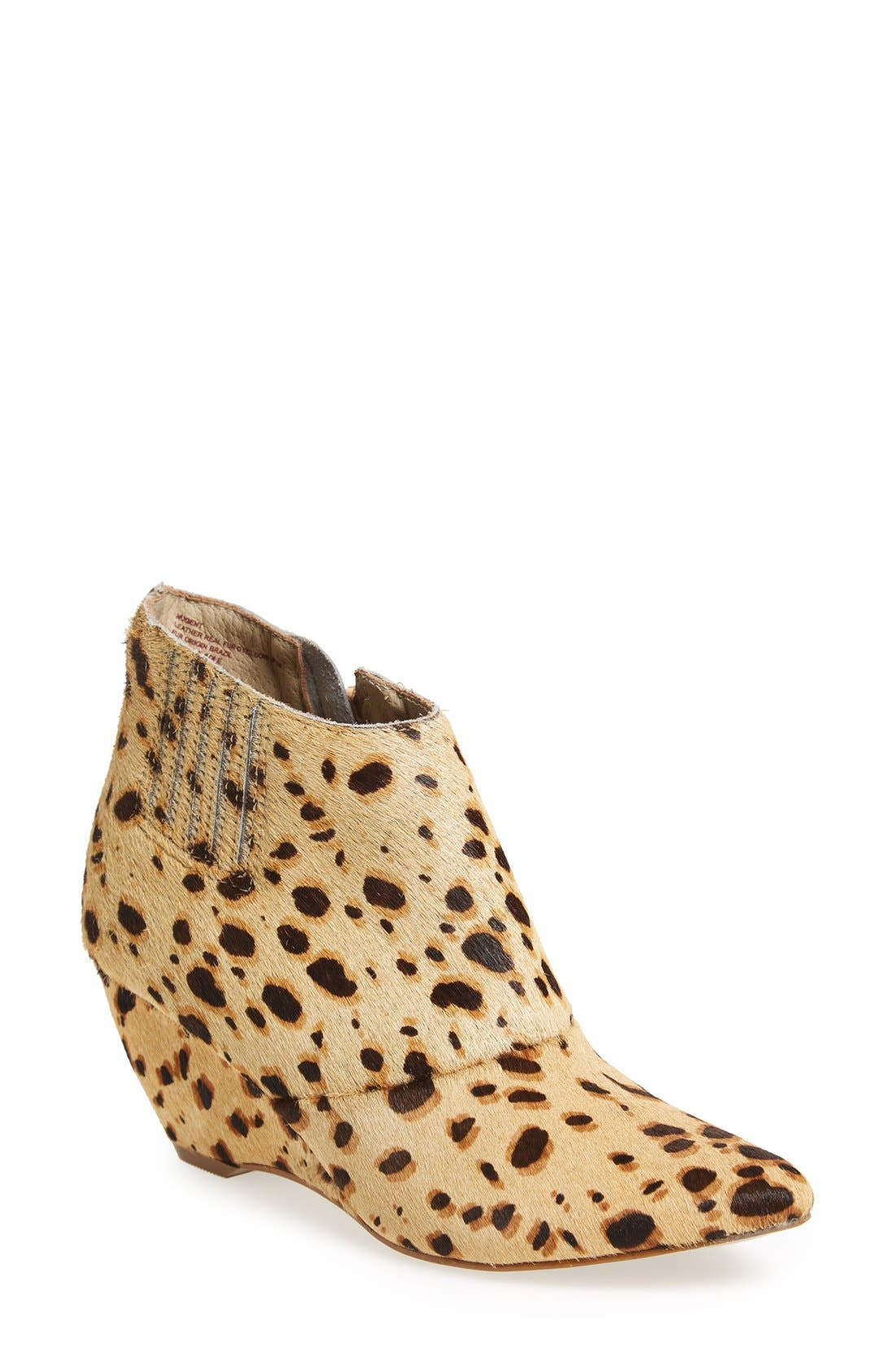 'Nugent' Wedge Bootie,                             Main thumbnail 1, color,                             200