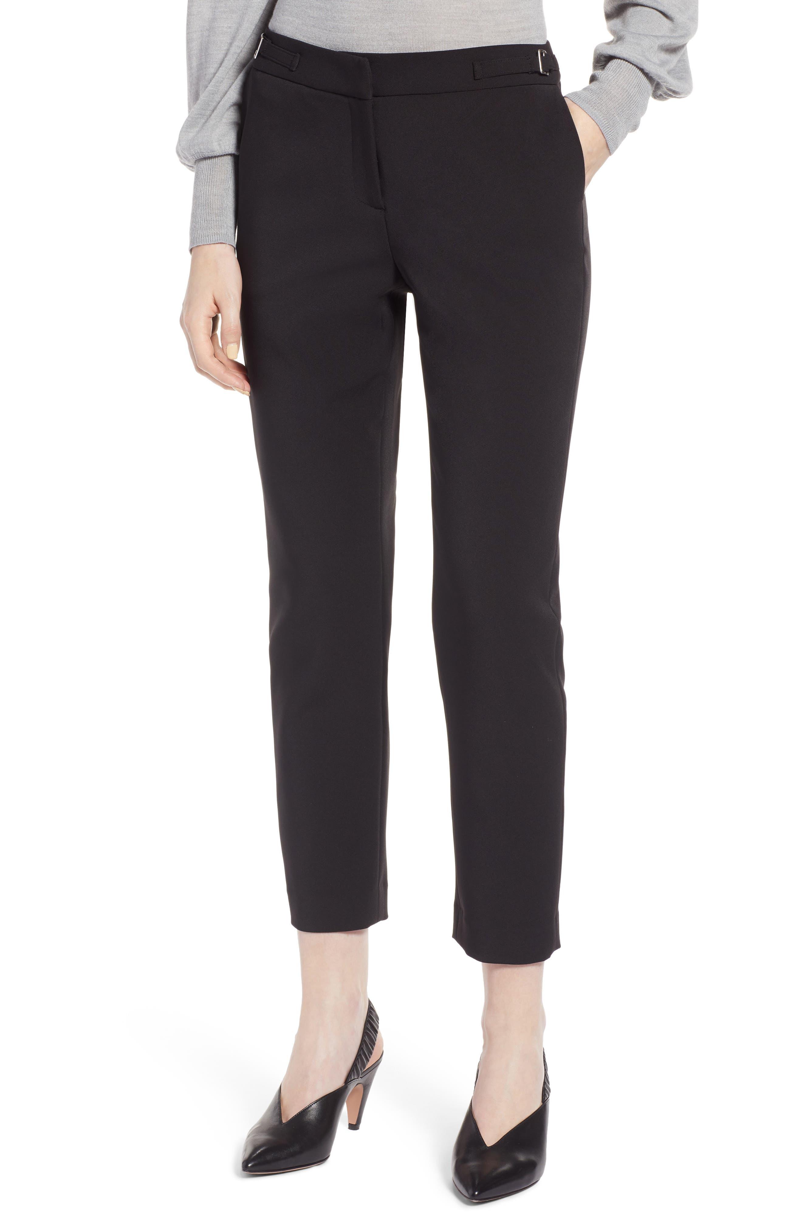 Slim Pants,                             Main thumbnail 1, color,                             BLACK TECH