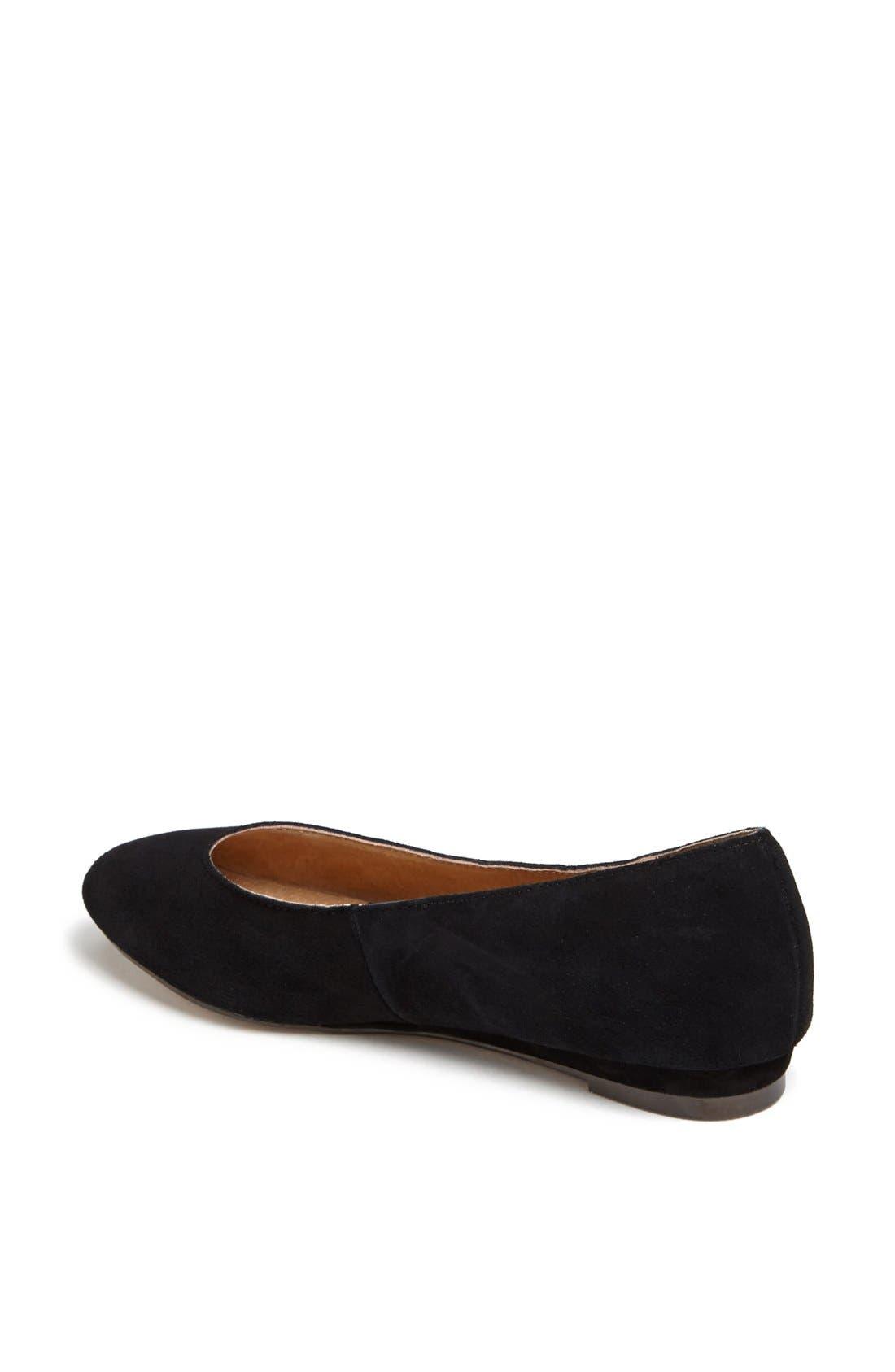 'Mello Mini Wedge' Court Shoe,                             Alternate thumbnail 4, color,                             001
