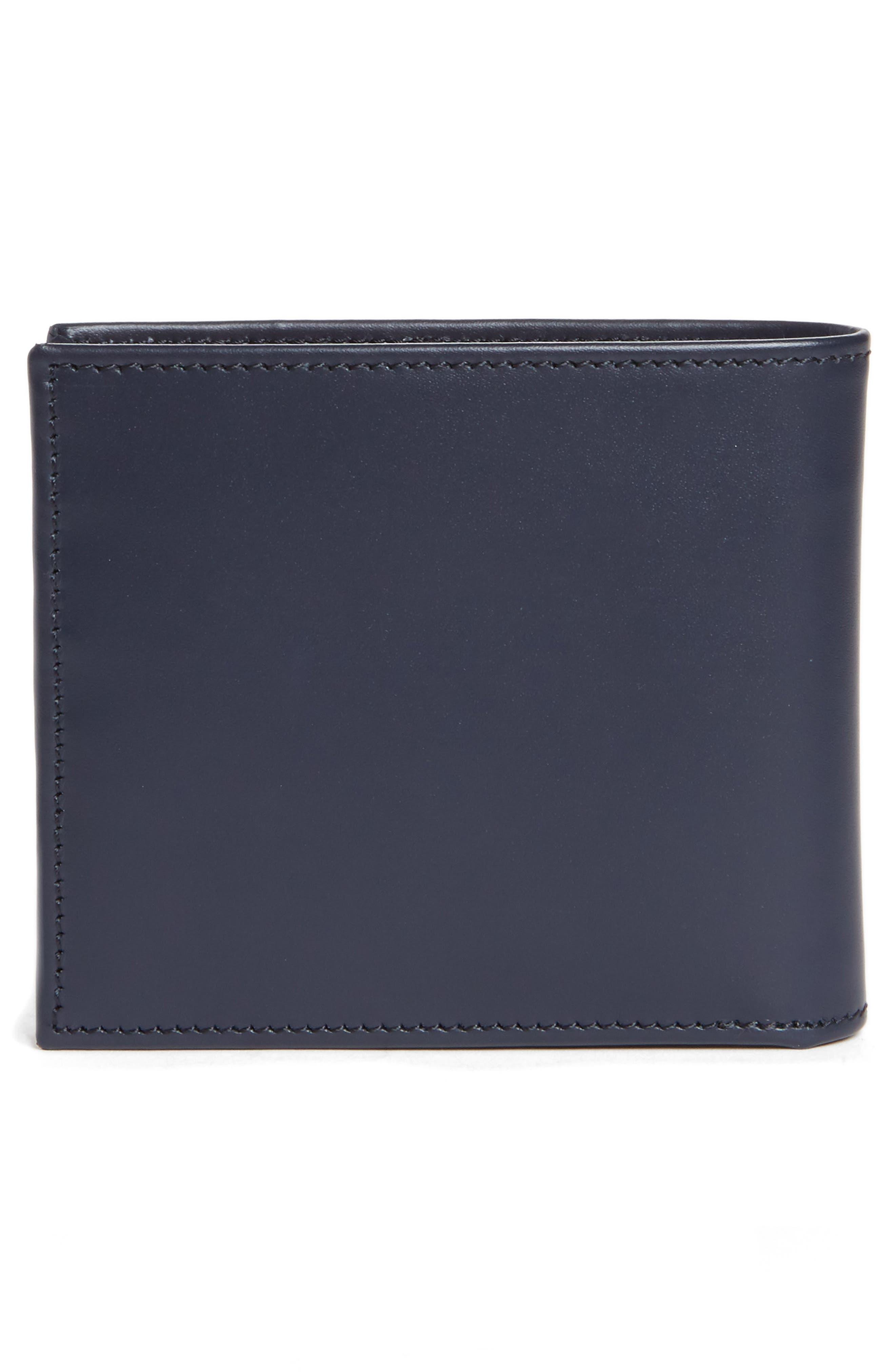 Multistripe Leather Wallet,                             Alternate thumbnail 6, color,