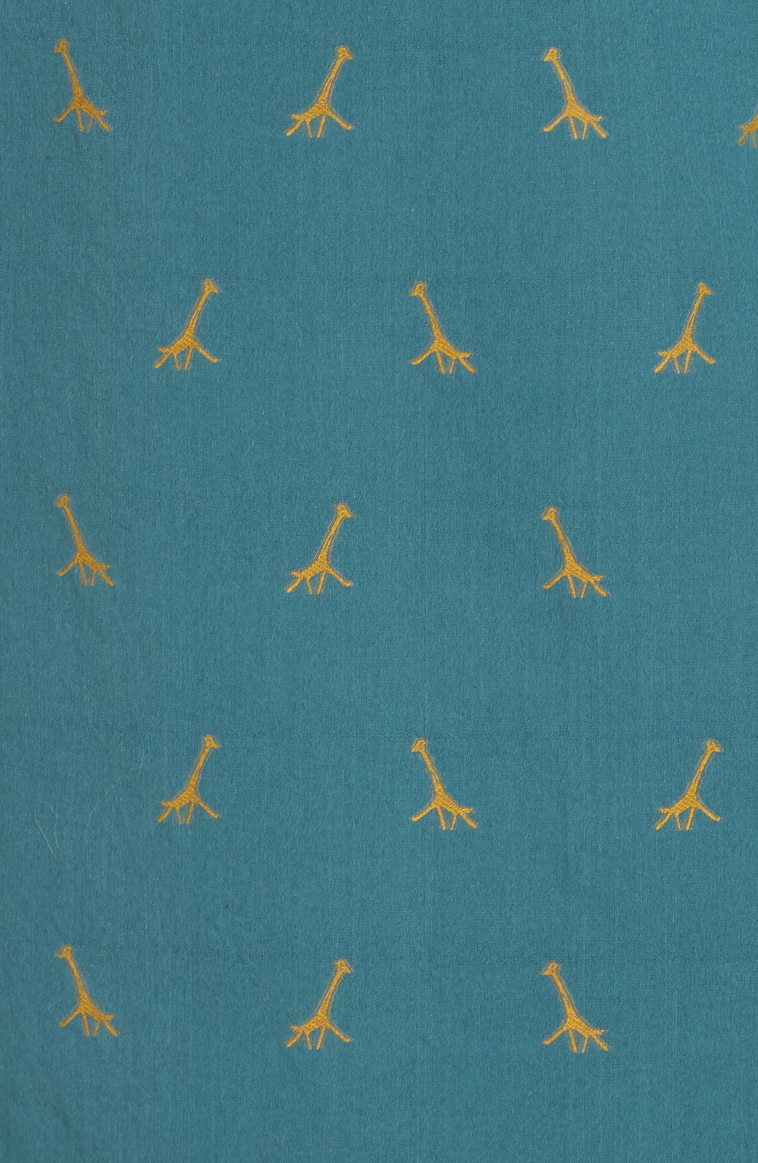 Broderick Slim Fit Short Sleeve Sport Shirt,                             Alternate thumbnail 5, color,                             300