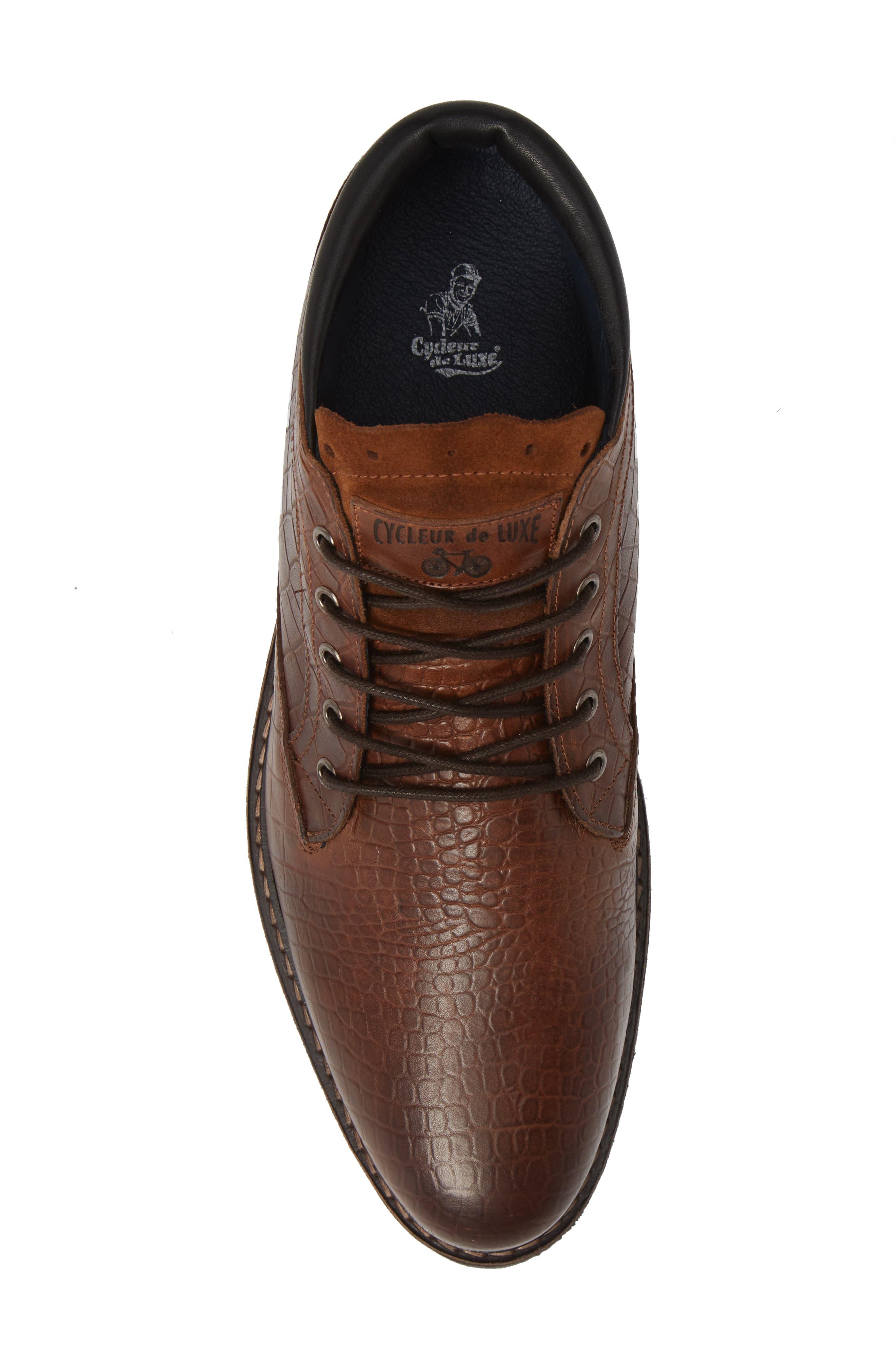 Manton Plain Toe Boot,                             Alternate thumbnail 5, color,                             COGNAC