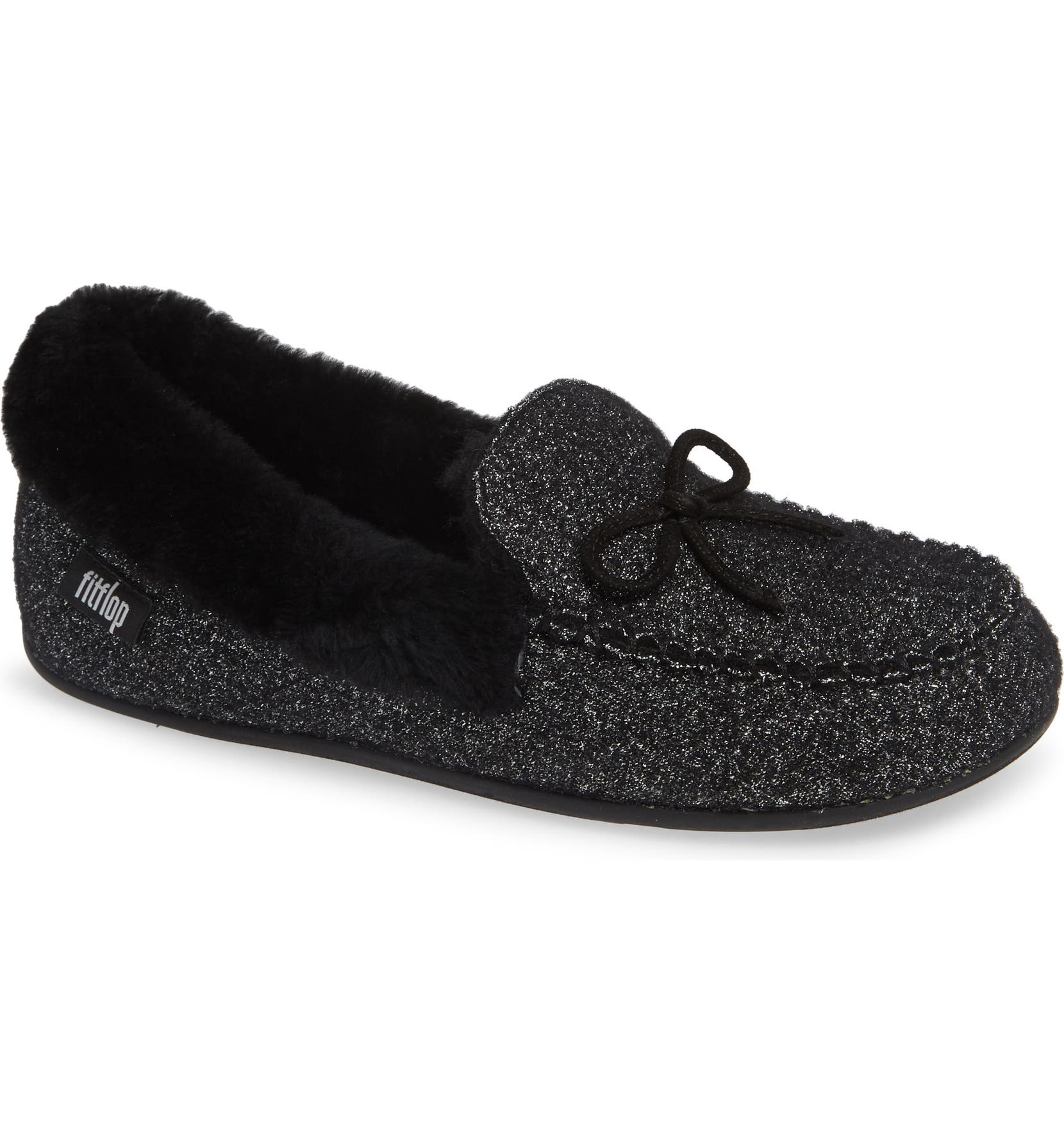 68d7ff7aa625 FitFlop Clara Genuine Shearling Lined Moccasin (Women)