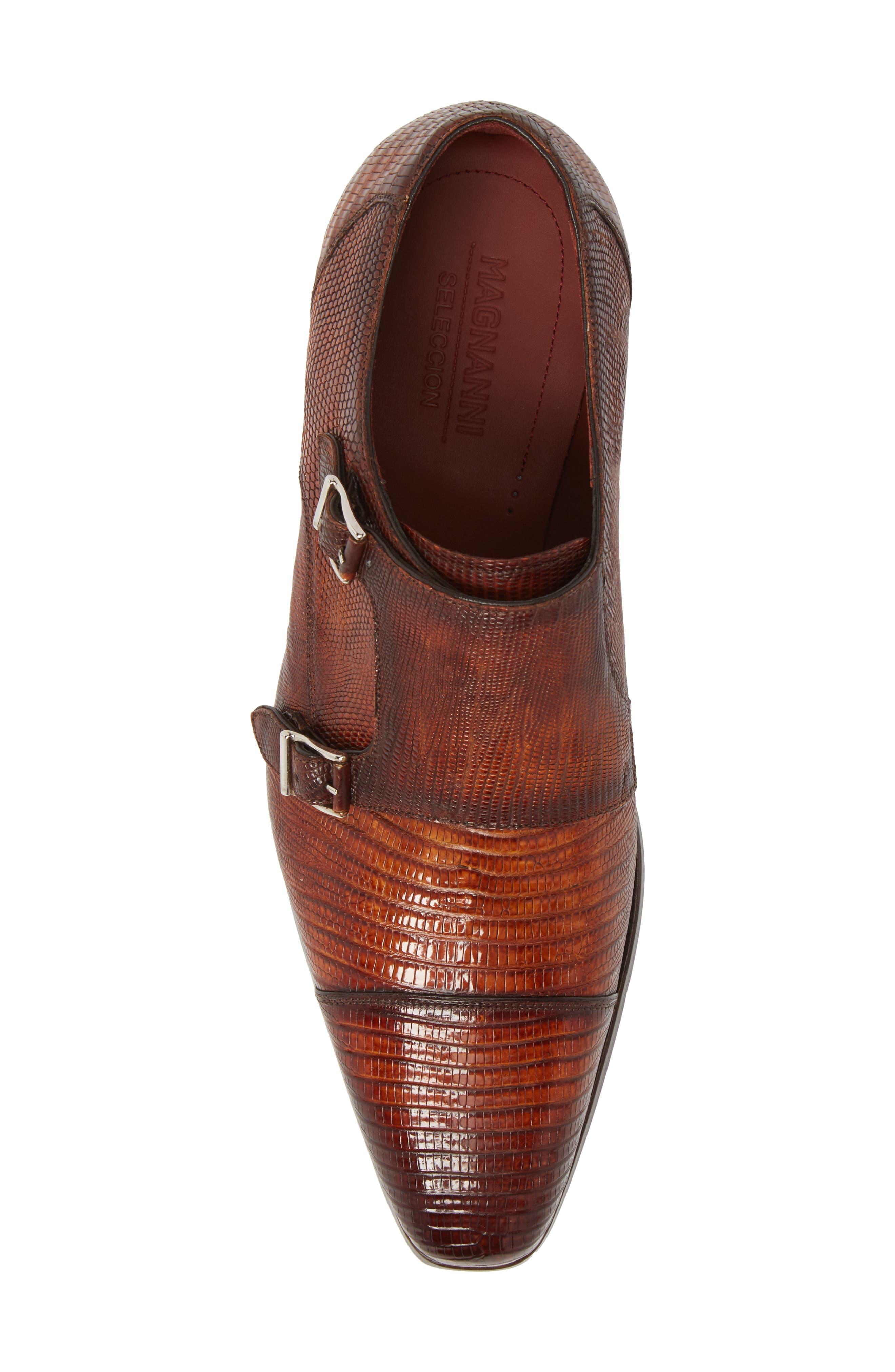 Isaac Cap Toe Monk Shoe,                             Alternate thumbnail 5, color,                             219
