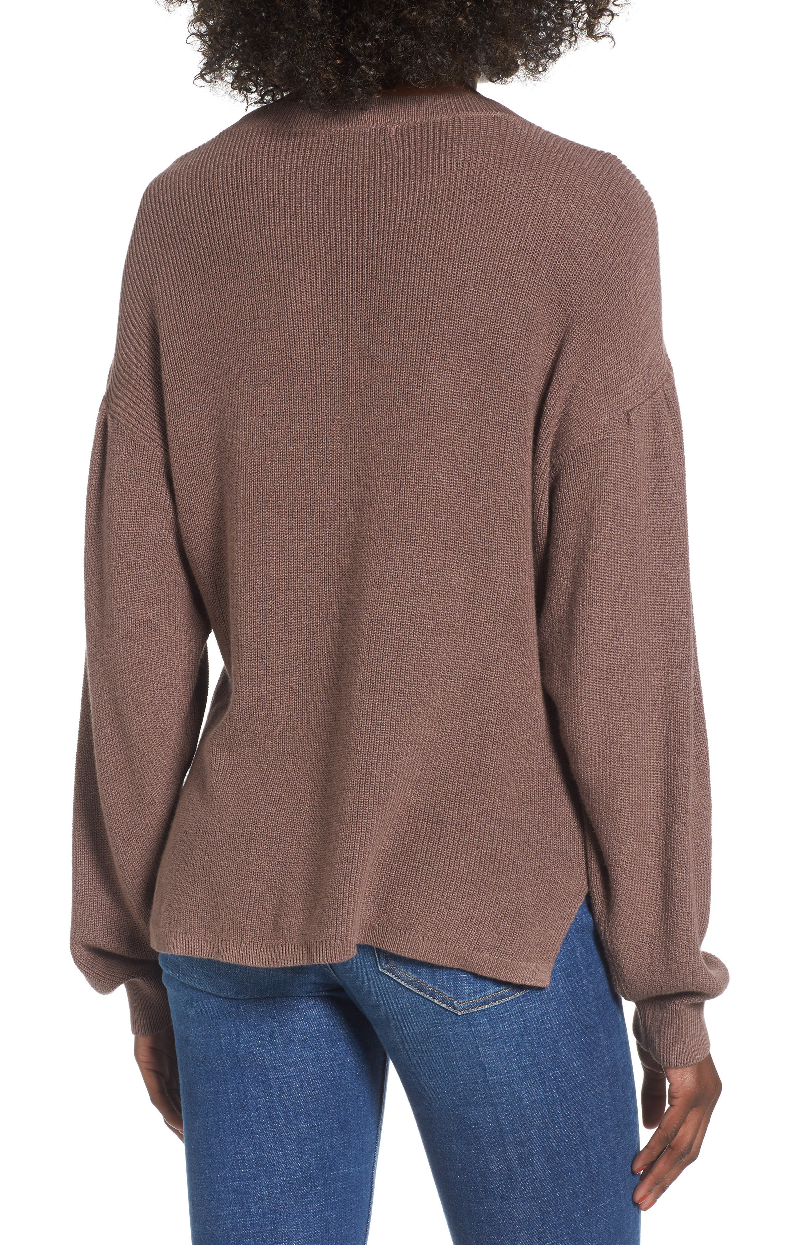 Drape Sleeve Sweater,                             Alternate thumbnail 2, color,                             230