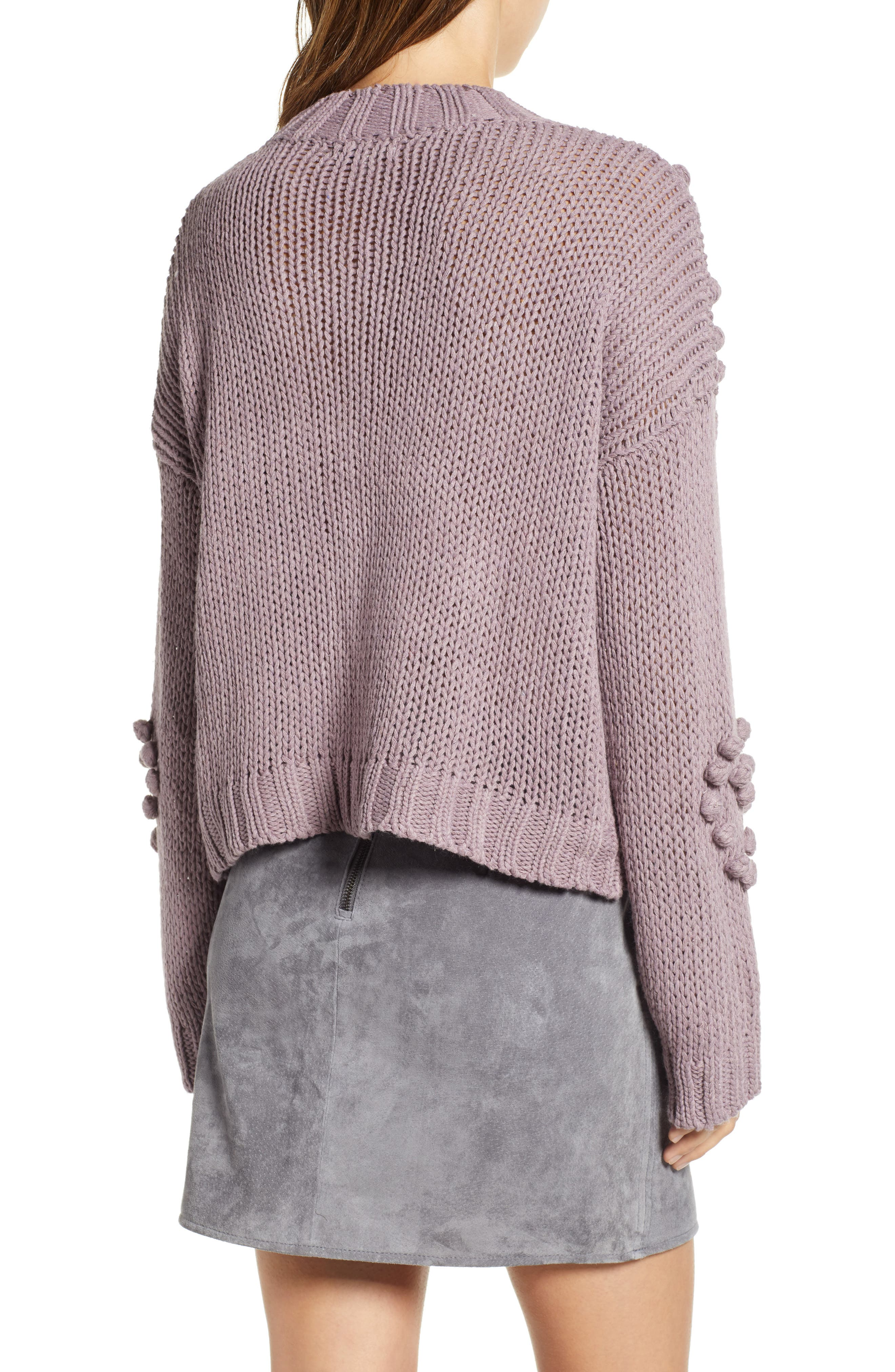Placement Knot Knit Sweater,                             Alternate thumbnail 2, color,                             300