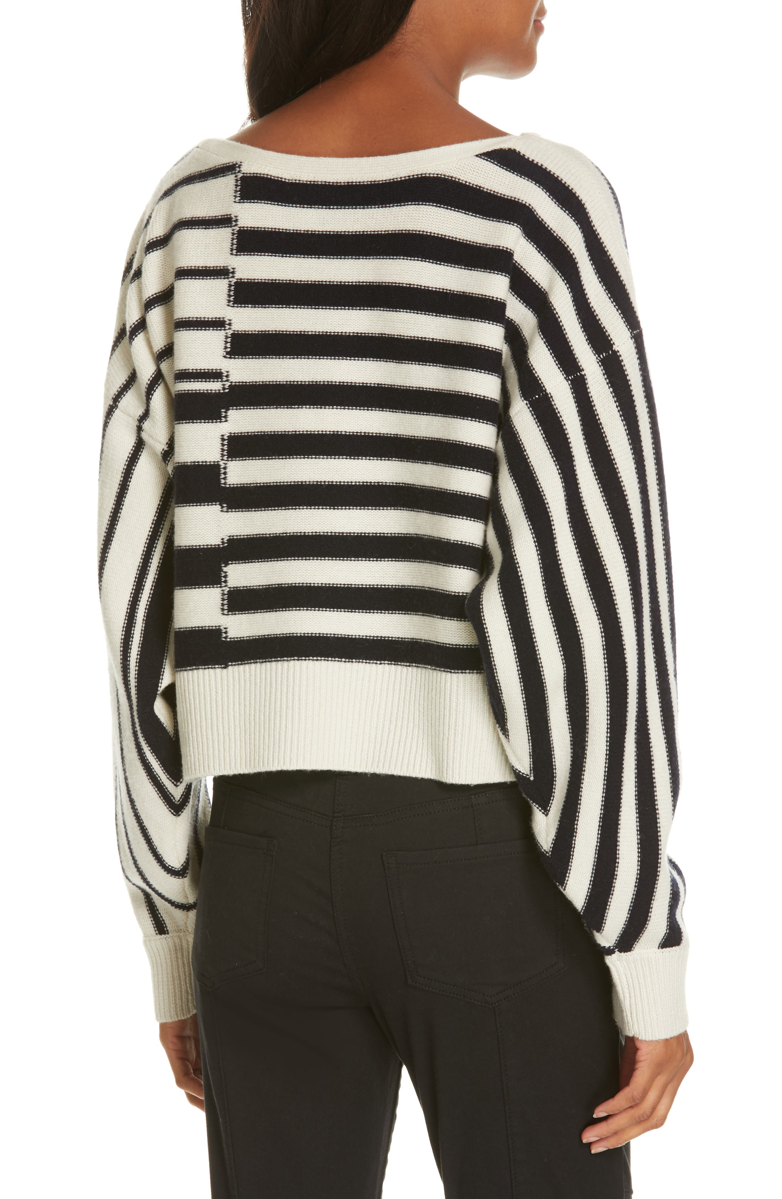 Maridel Sweater,                             Alternate thumbnail 2, color,                             PORCELAIN MIDNIGHT