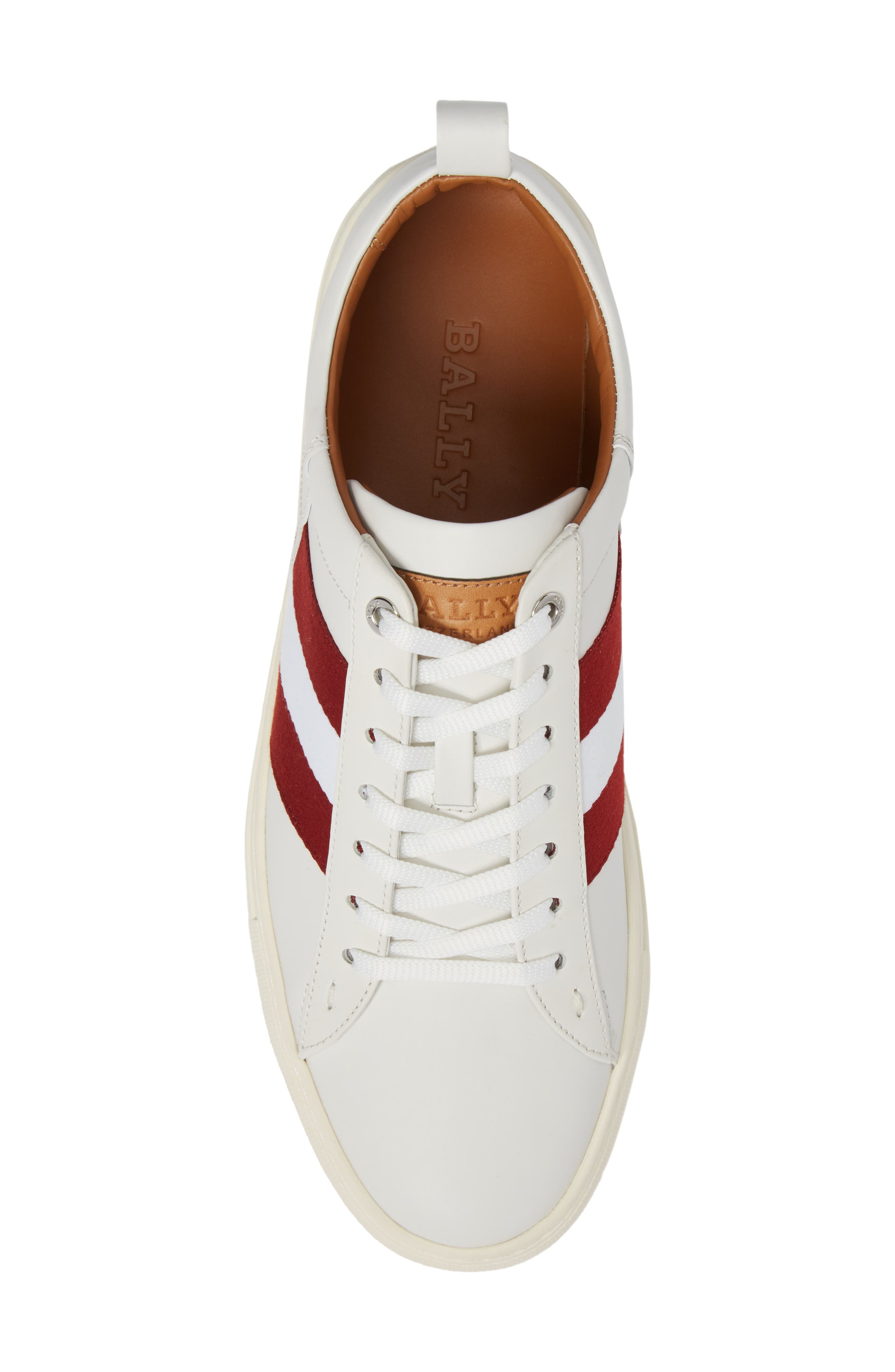 'Helvio' Sneaker,                             Alternate thumbnail 5, color,                             WHITE