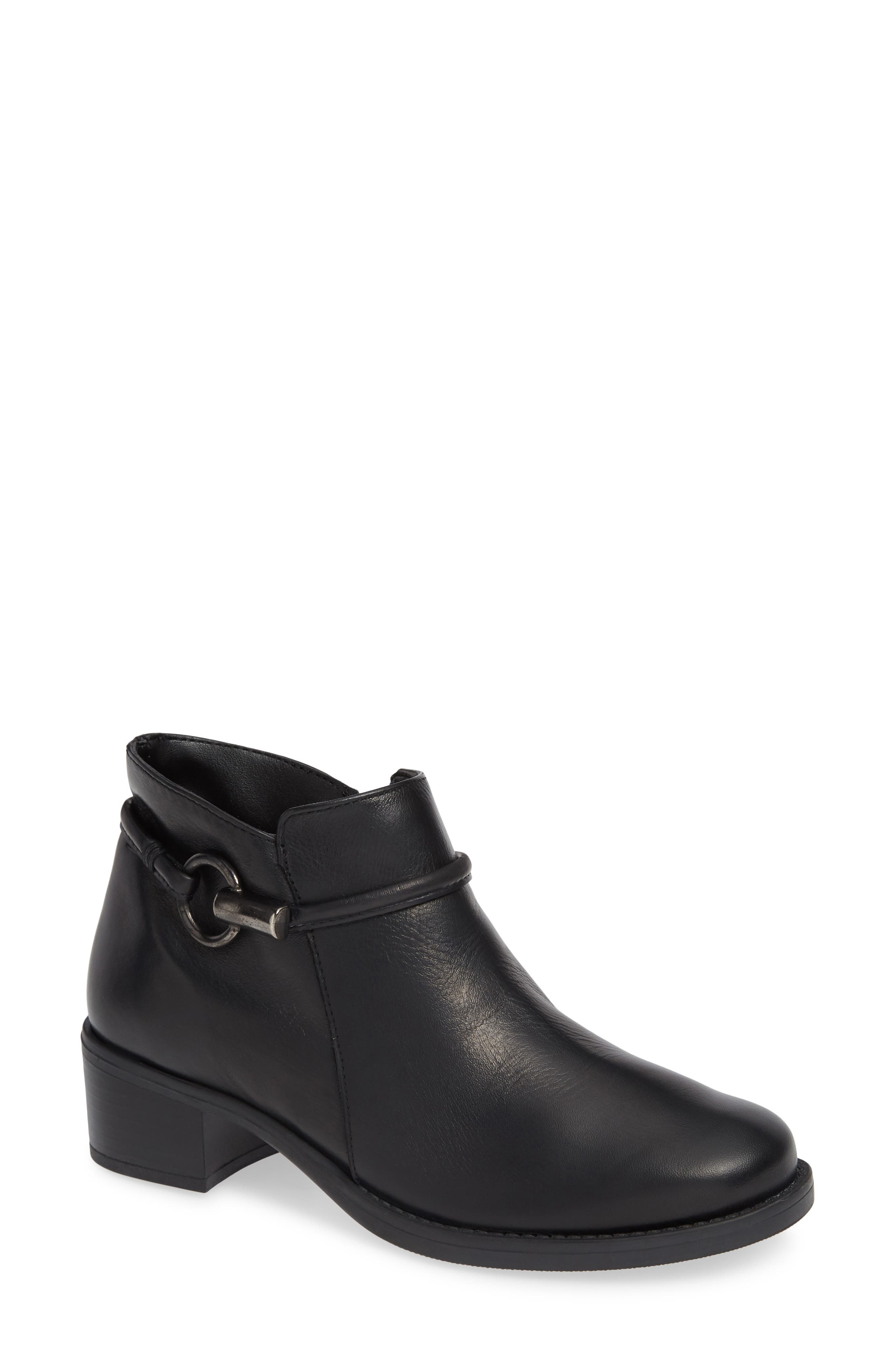 David Tate Miller Low Bootie, Black