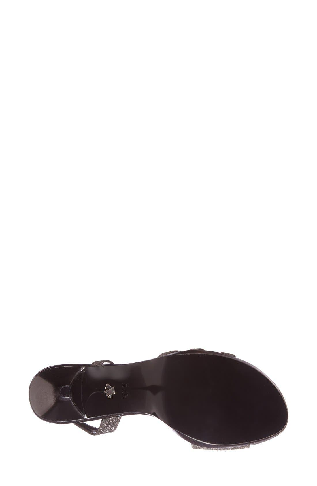 'Neely' Slingback Platform Sandal,                             Alternate thumbnail 2, color,                             CHARCOAL