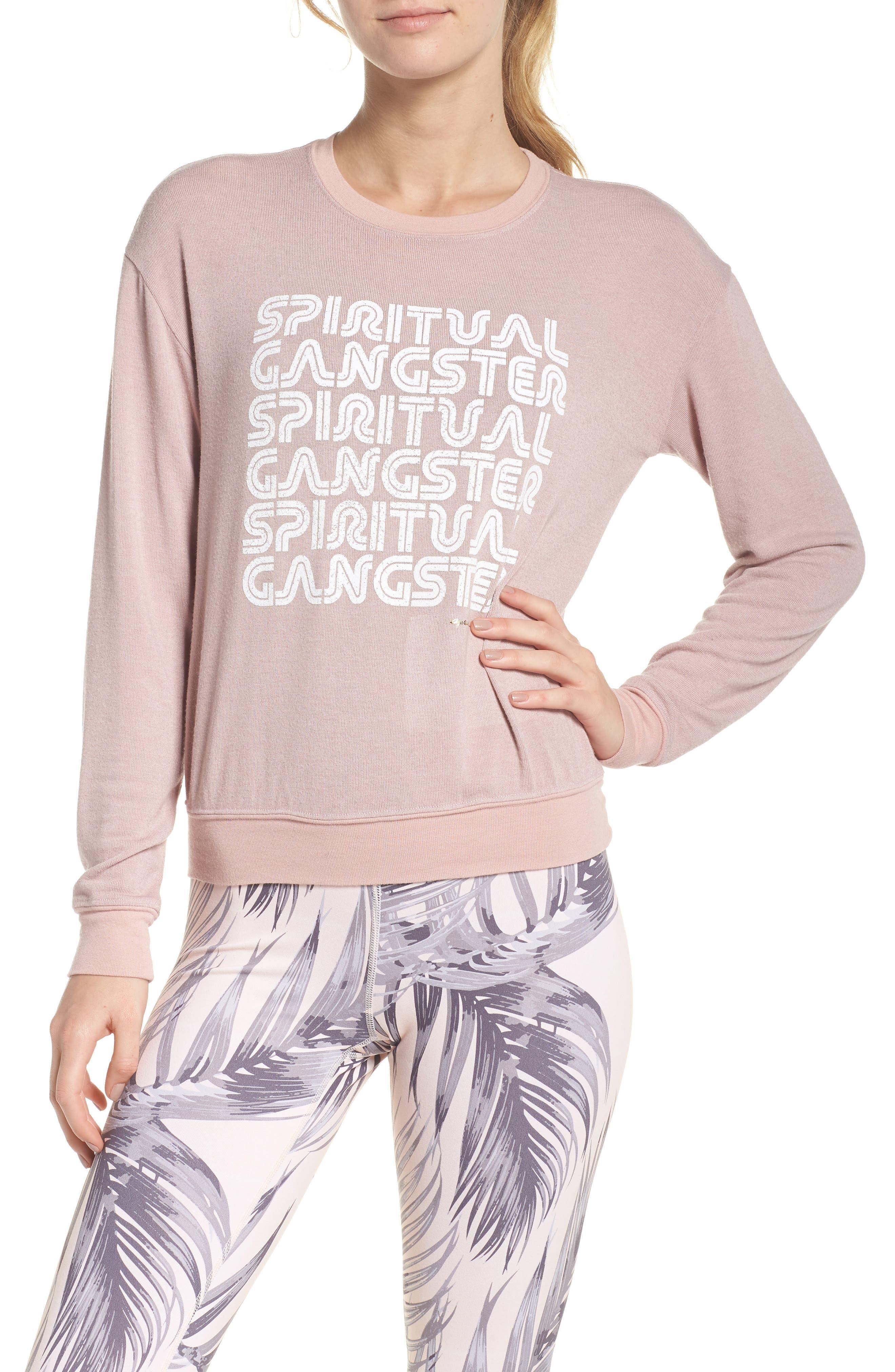 Retro Savasana Sweatshirt,                             Main thumbnail 1, color,                             650